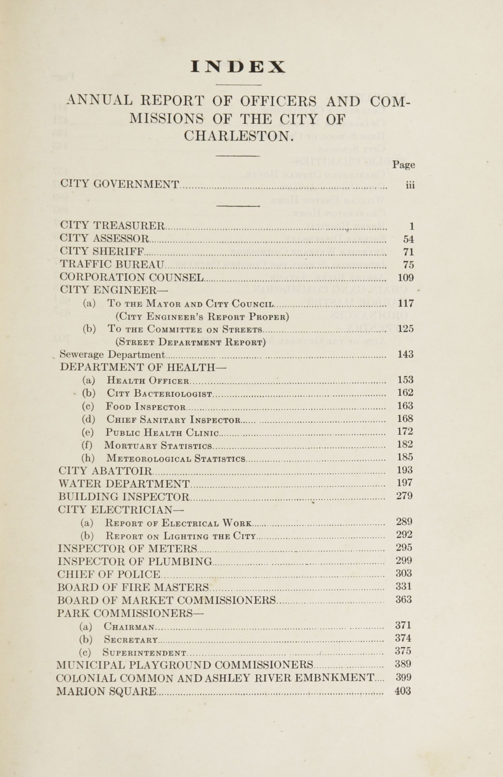 Charleston Yearbook, 1922, page xxiii