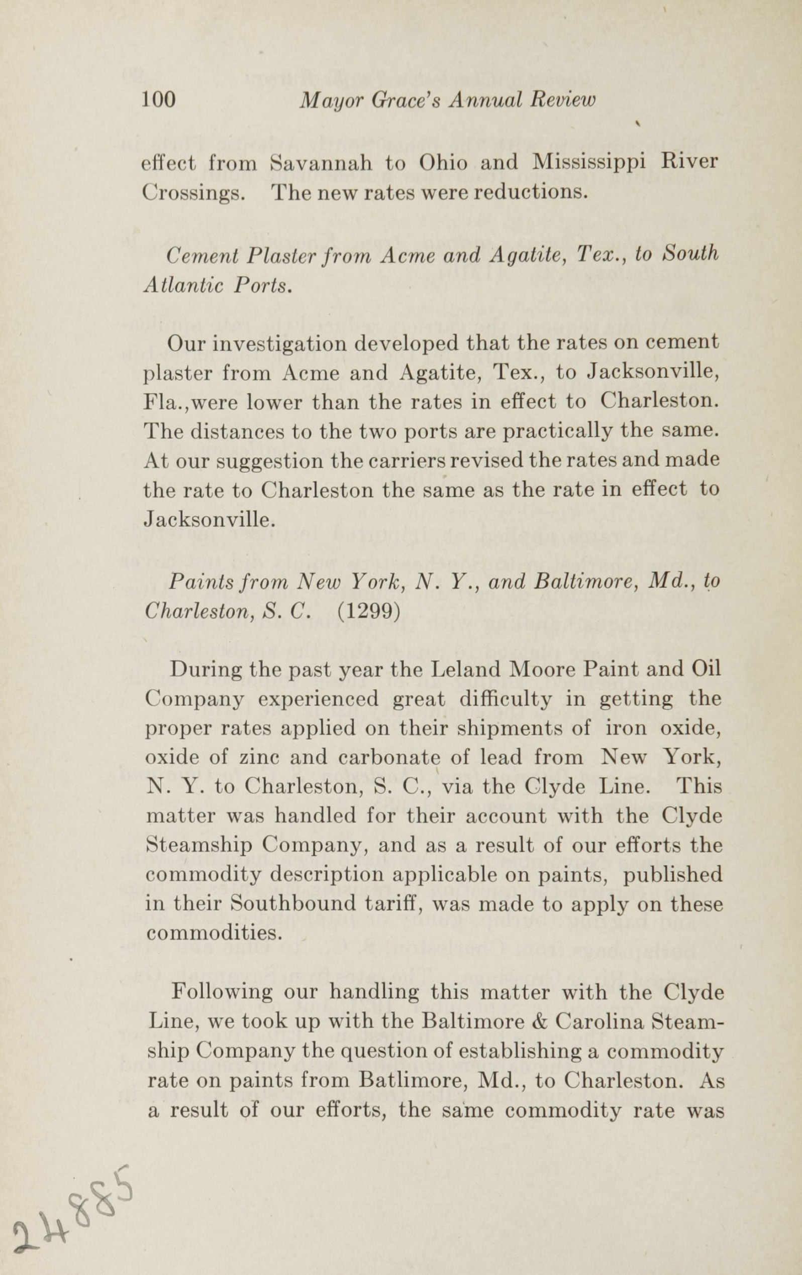 Charleston Yearbook, 1922, page 100