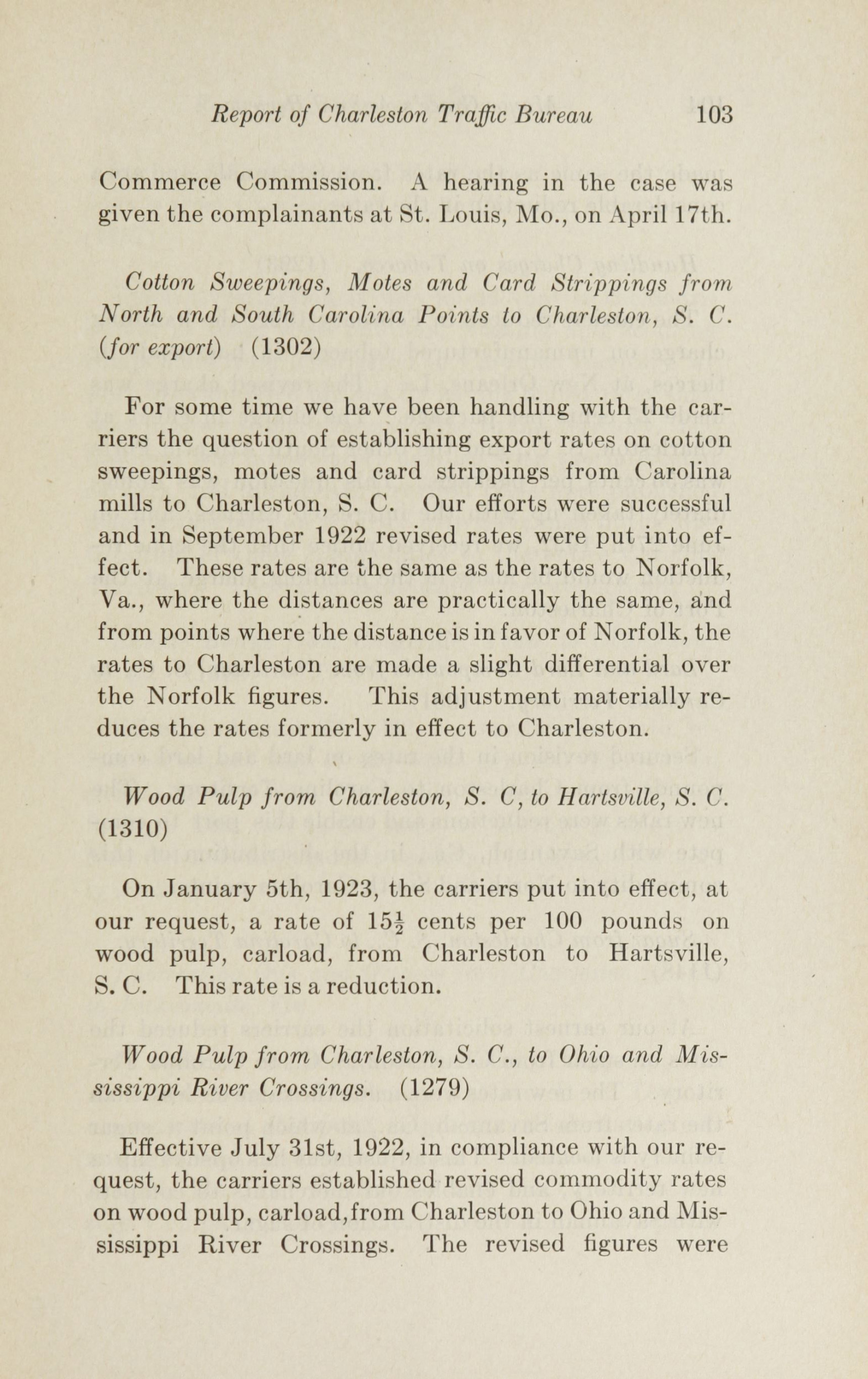 Charleston Yearbook, 1922, page 103