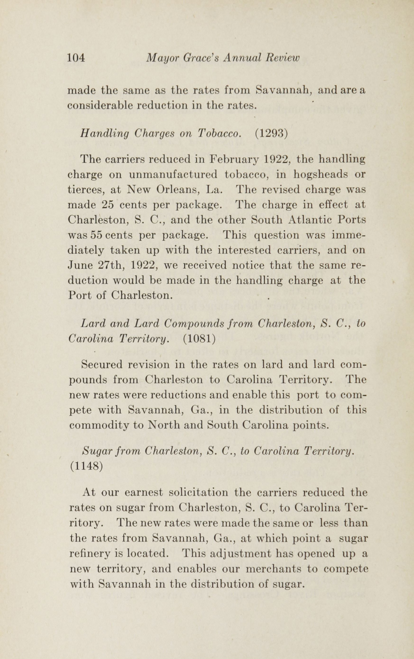 Charleston Yearbook, 1922, page 104