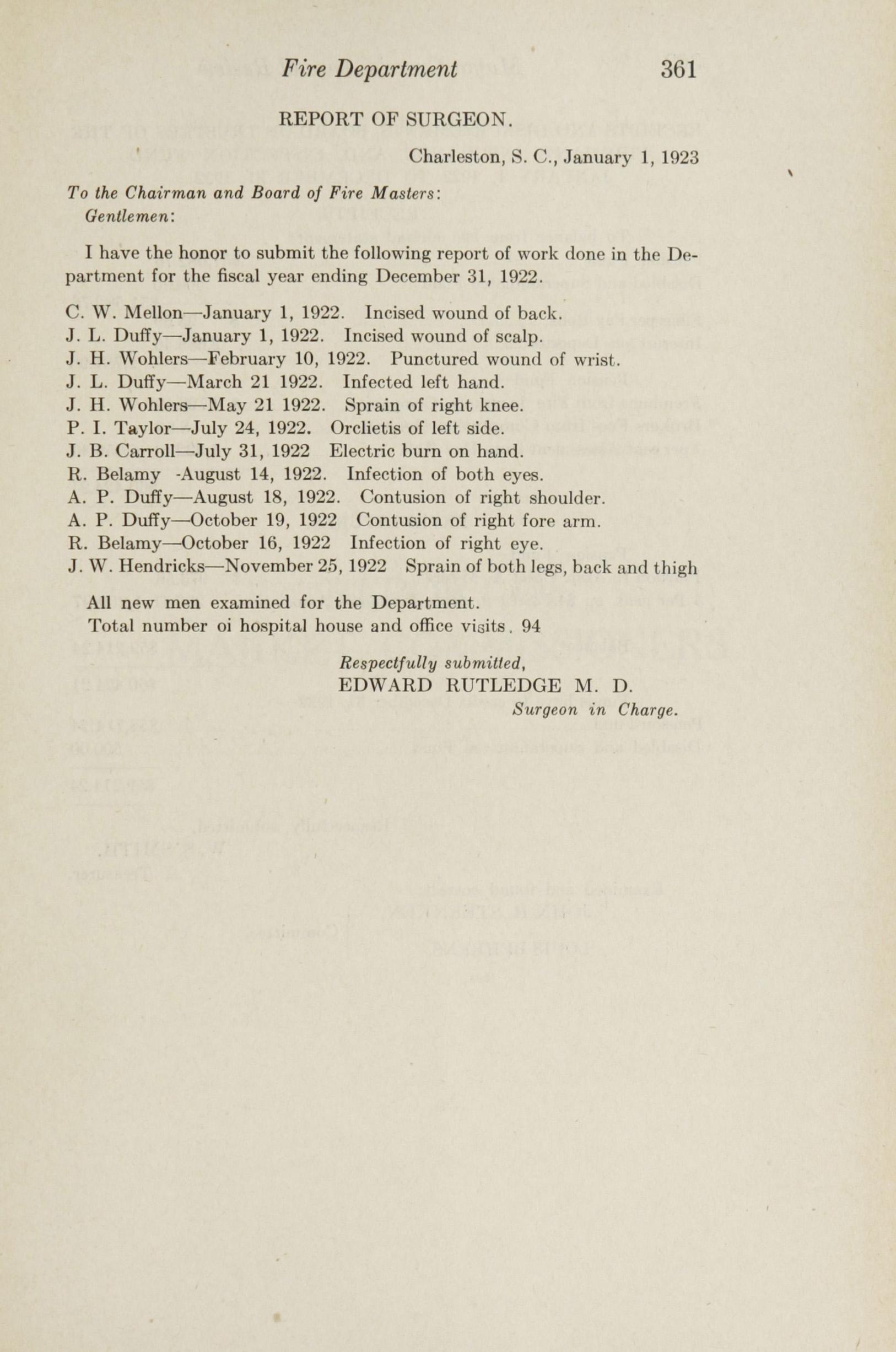 Charleston Yearbook, 1922, page 361