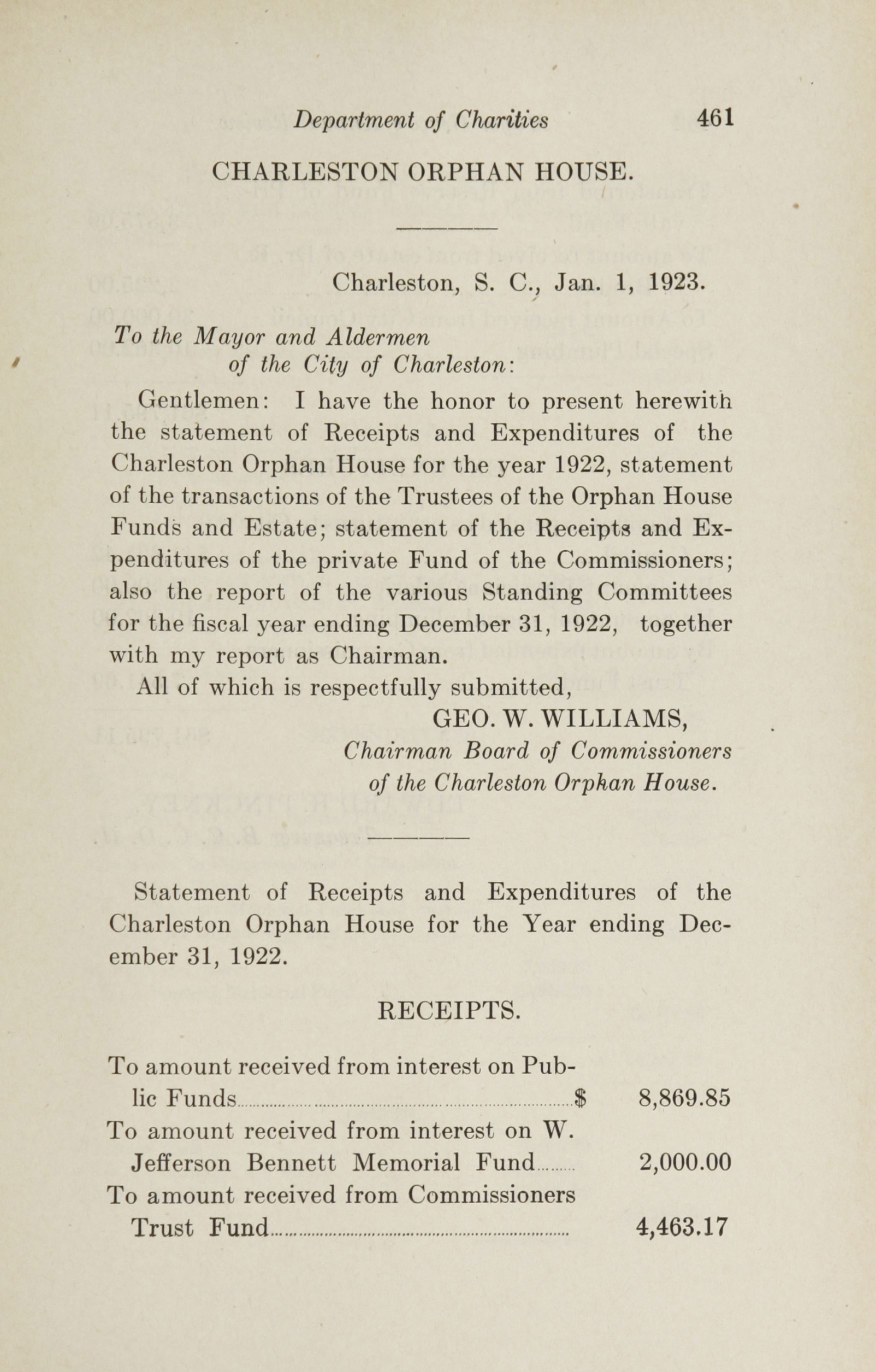 Charleston Yearbook, 1922, page 461