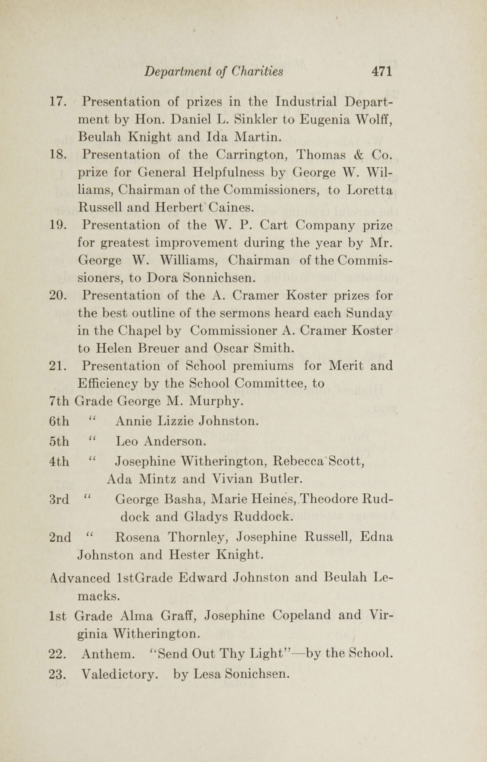 Charleston Yearbook, 1922, page 471