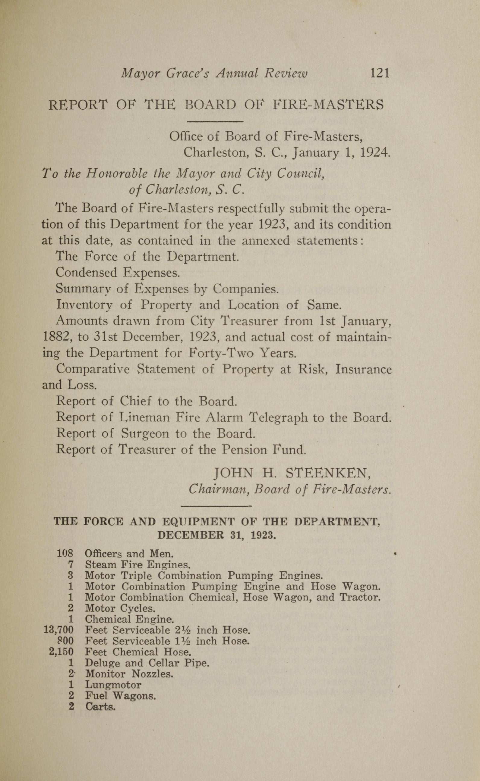 Charleston Yearbook, 1923, page 121