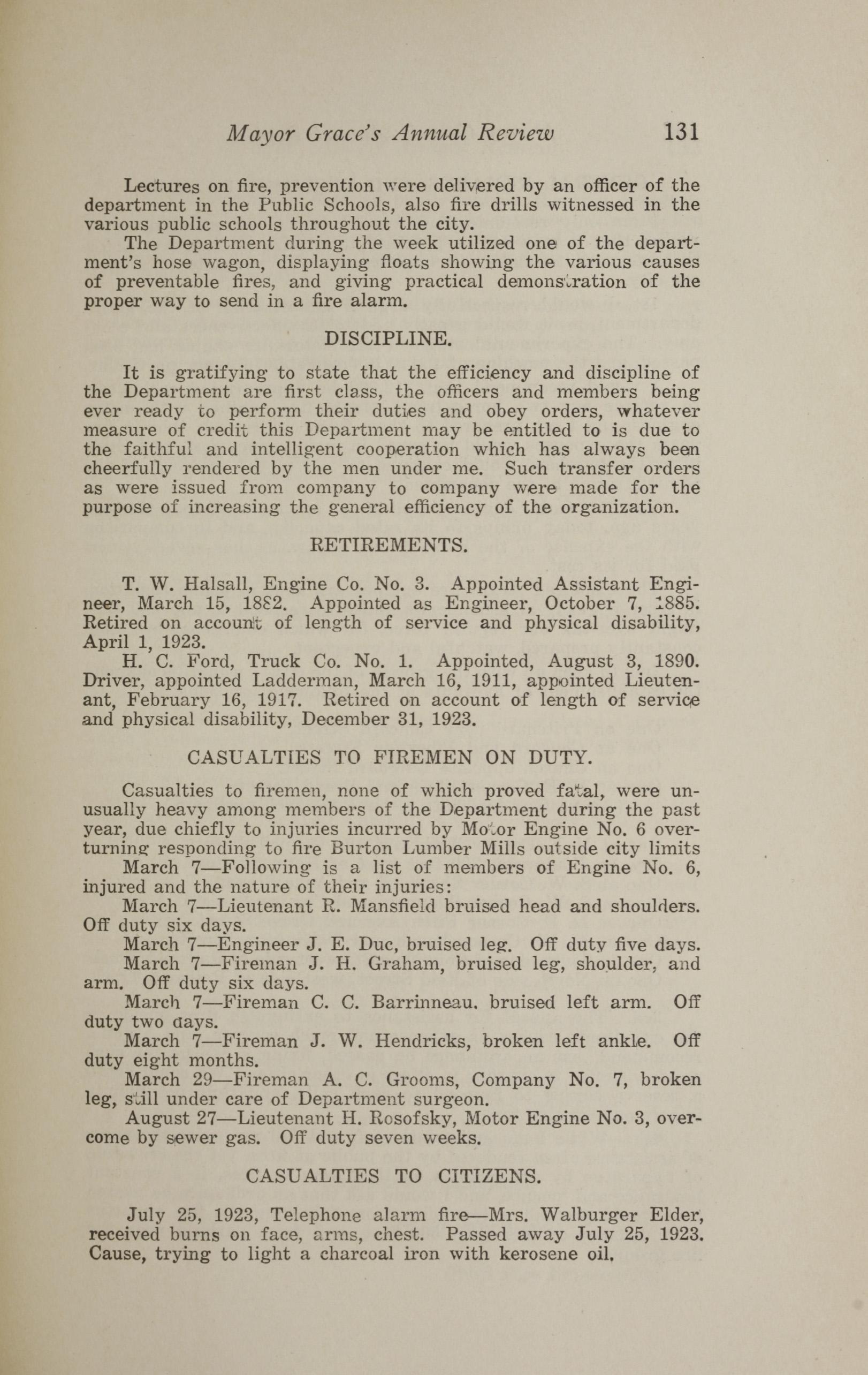 Charleston Yearbook, 1923, page 131