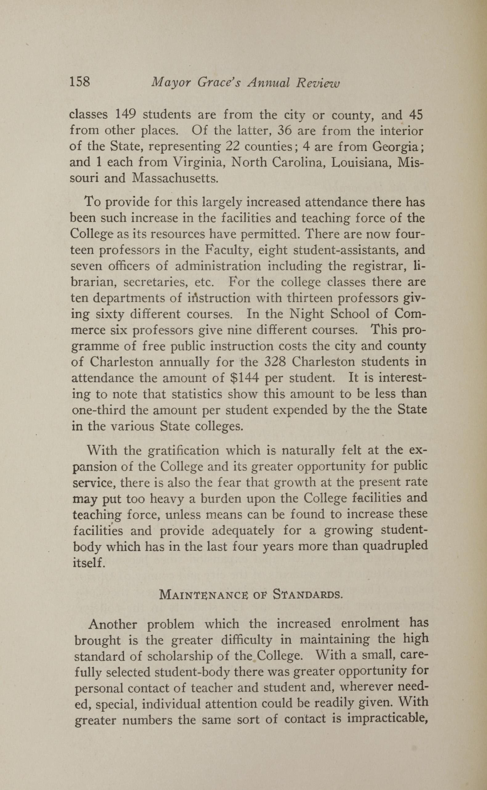 Charleston Yearbook, 1923, page 158