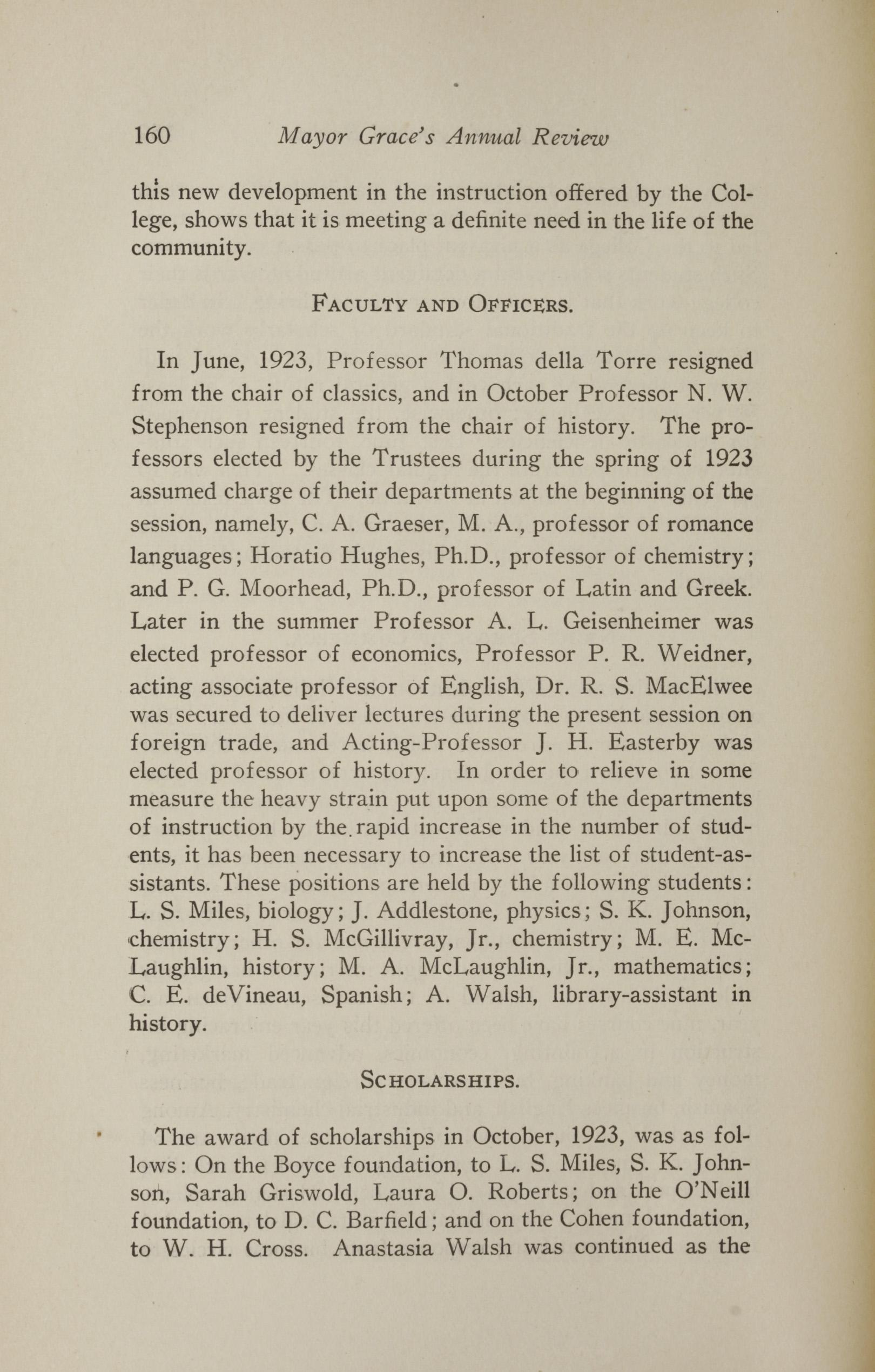 Charleston Yearbook, 1923, page 160