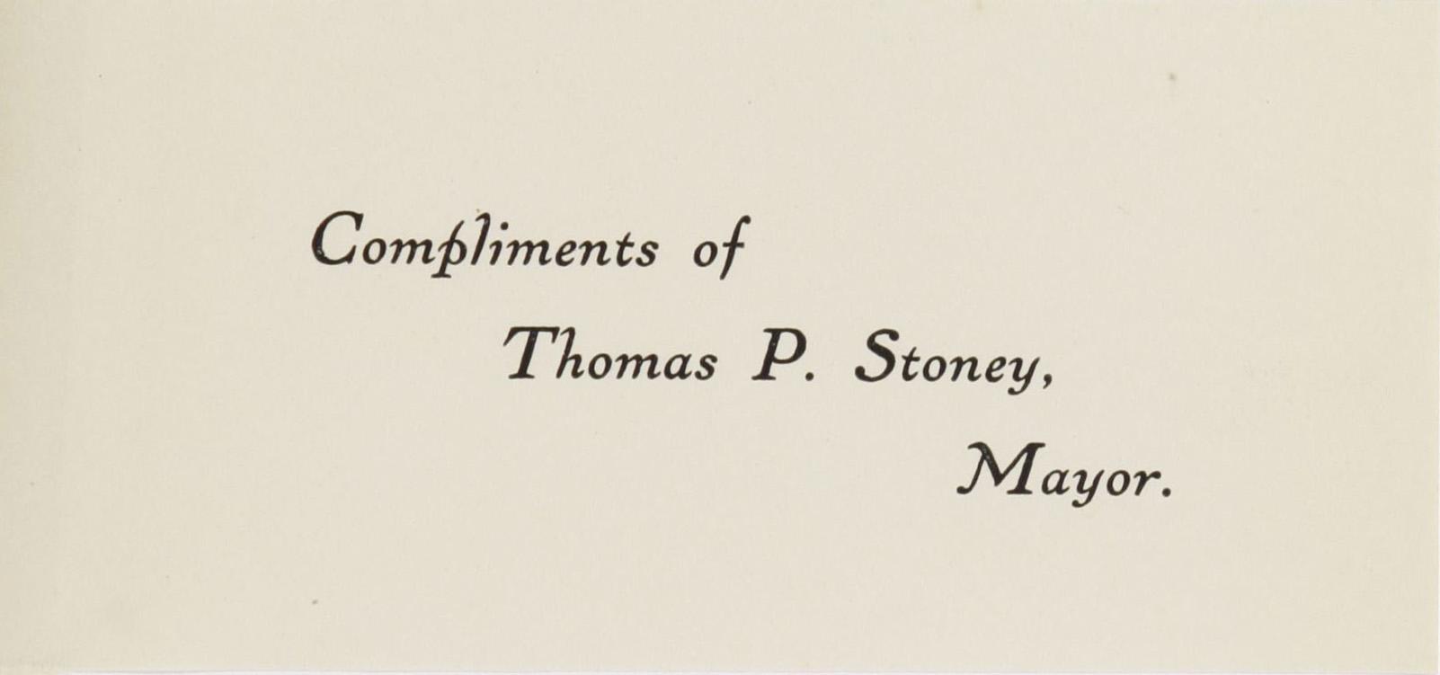Charleston Yearbook, 1924, insert