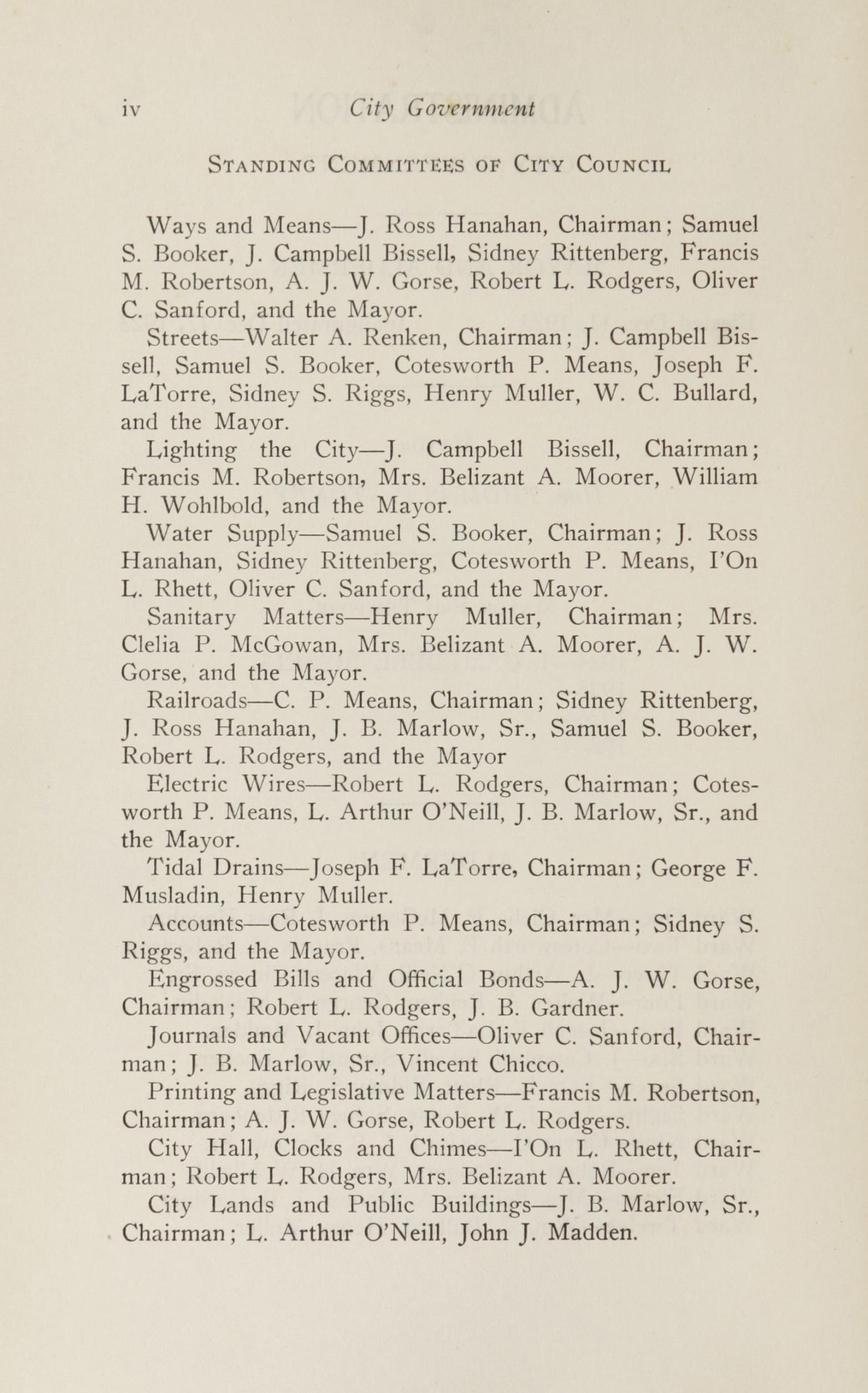 Charleston Yearbook, 1924, page iv