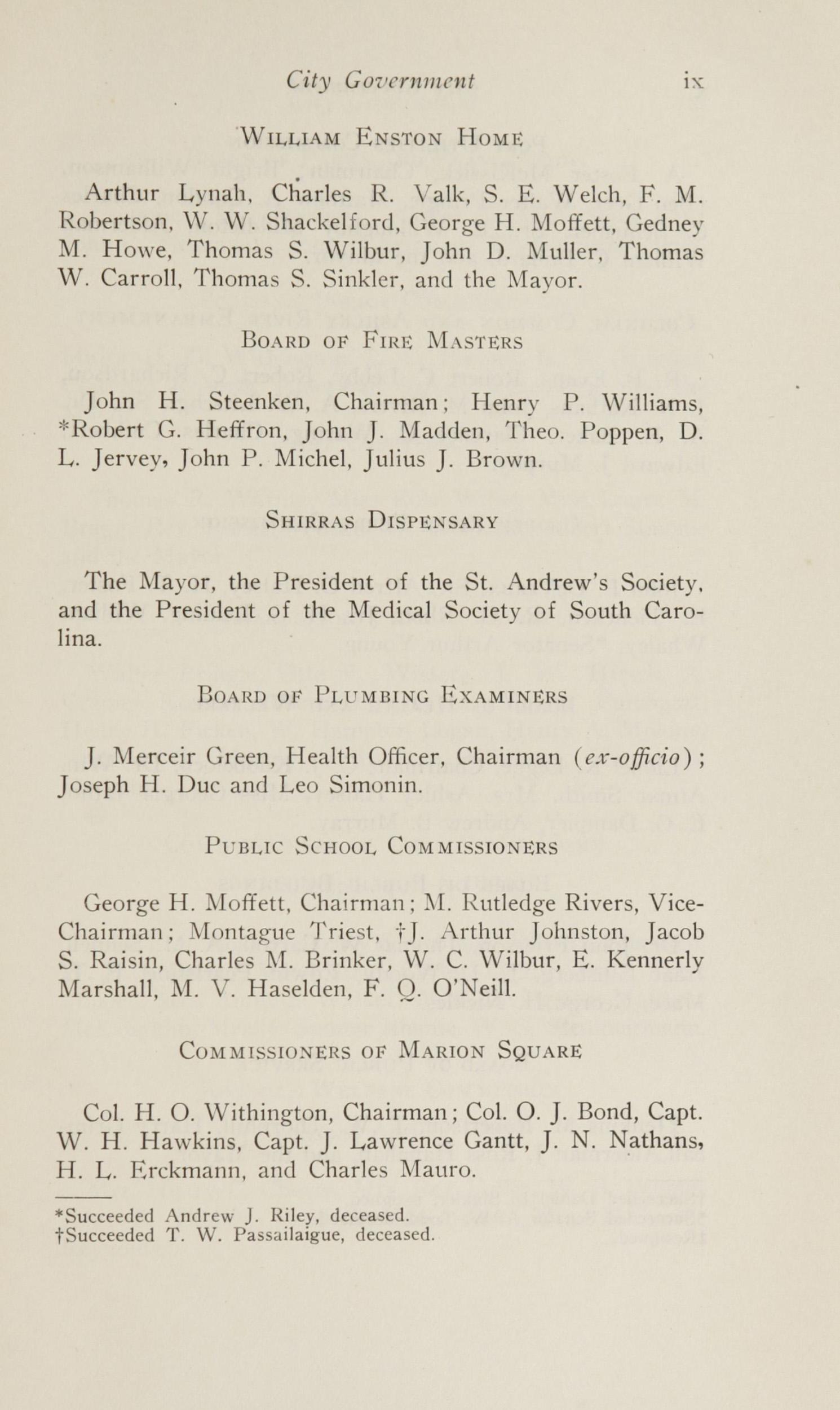 Charleston Yearbook, 1924, page ix