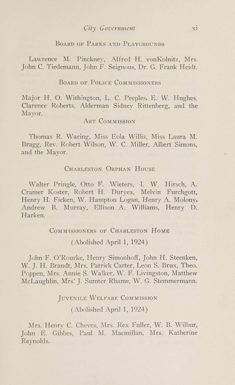 Charleston Yearbook, 1924, page xi