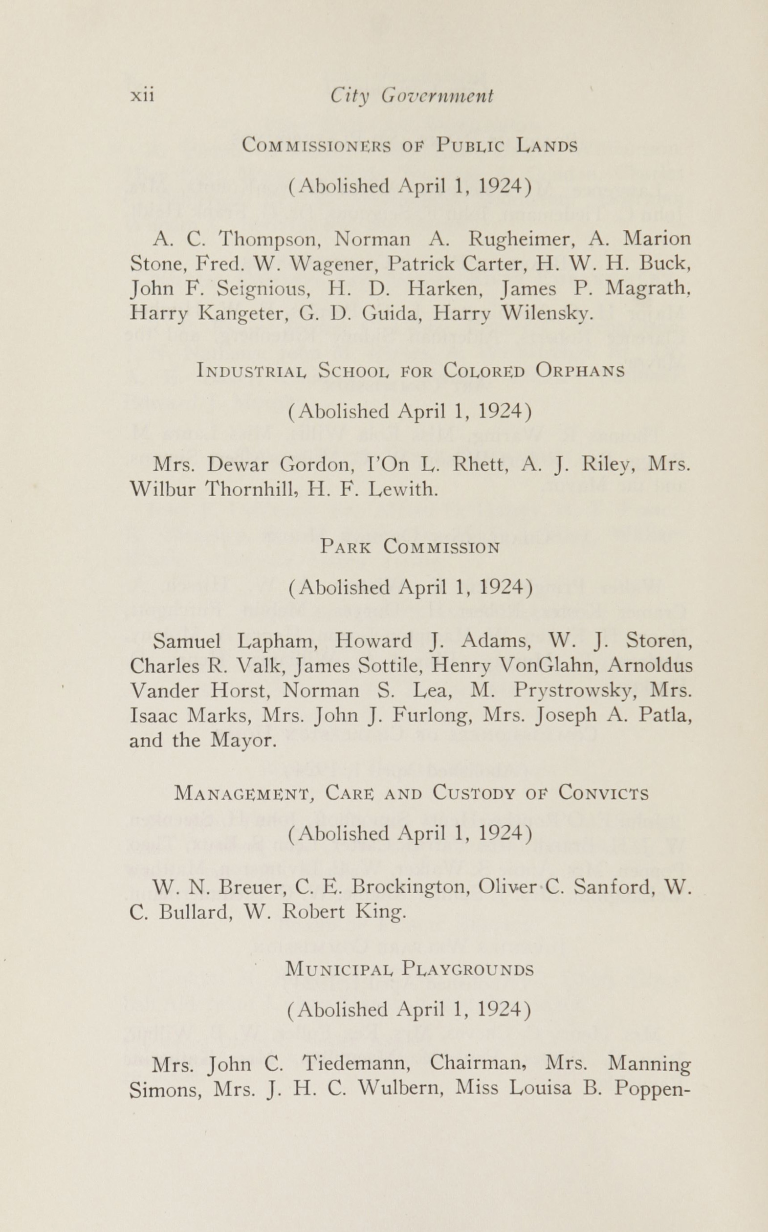 Charleston Yearbook, 1924, page xii