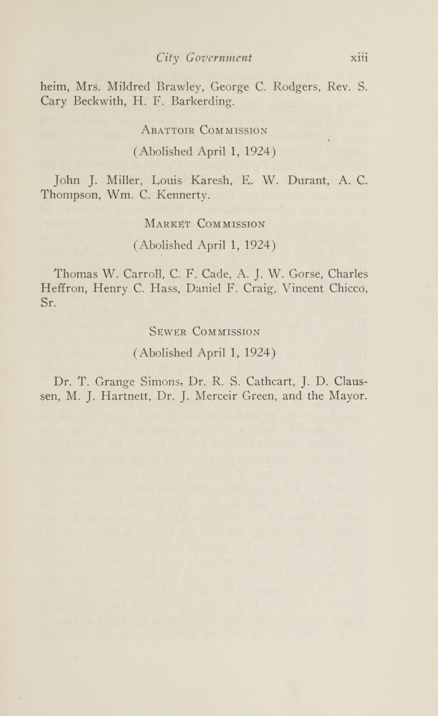Charleston Yearbook, 1924, page xiii