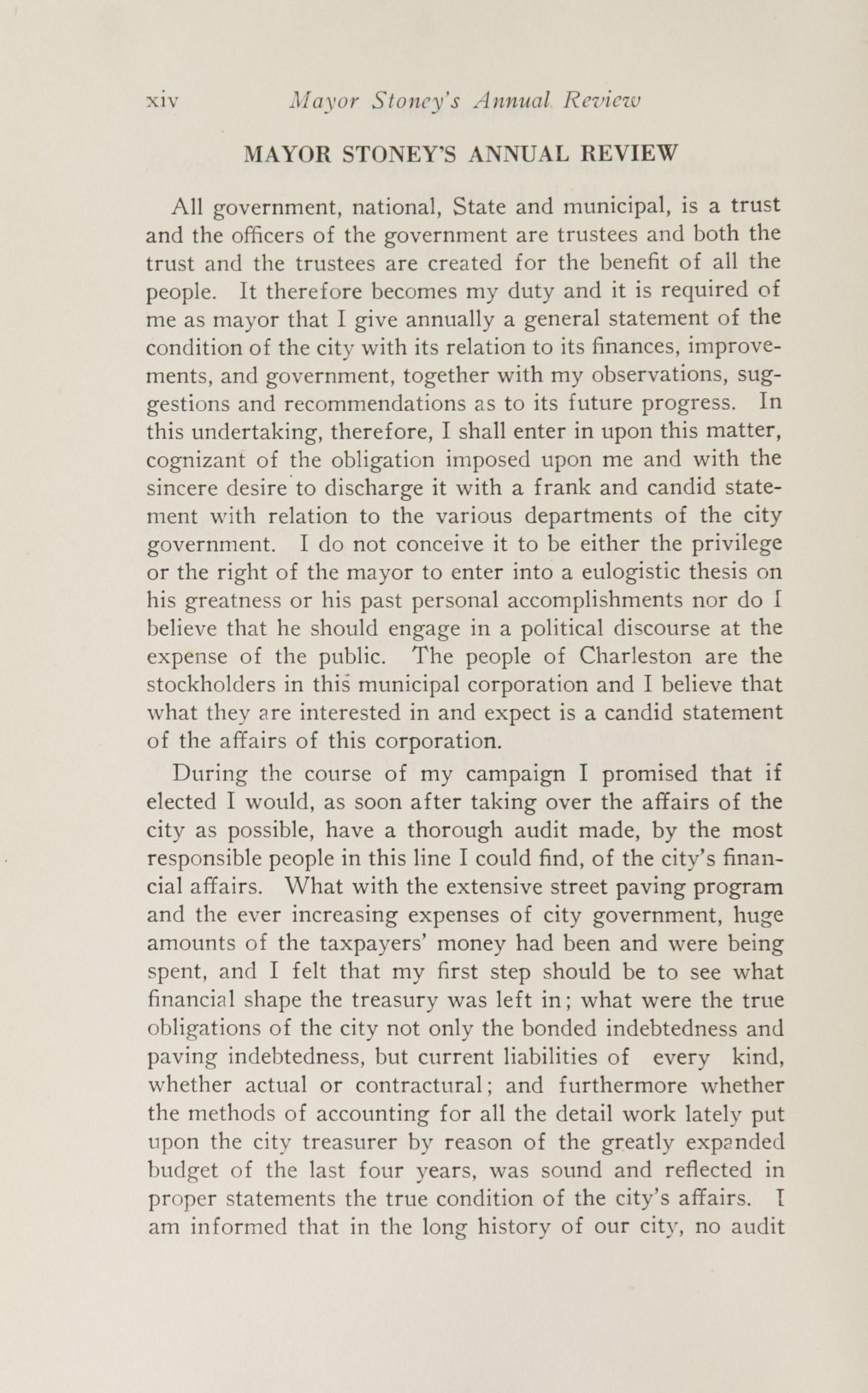 Charleston Yearbook, 1924, page xiv