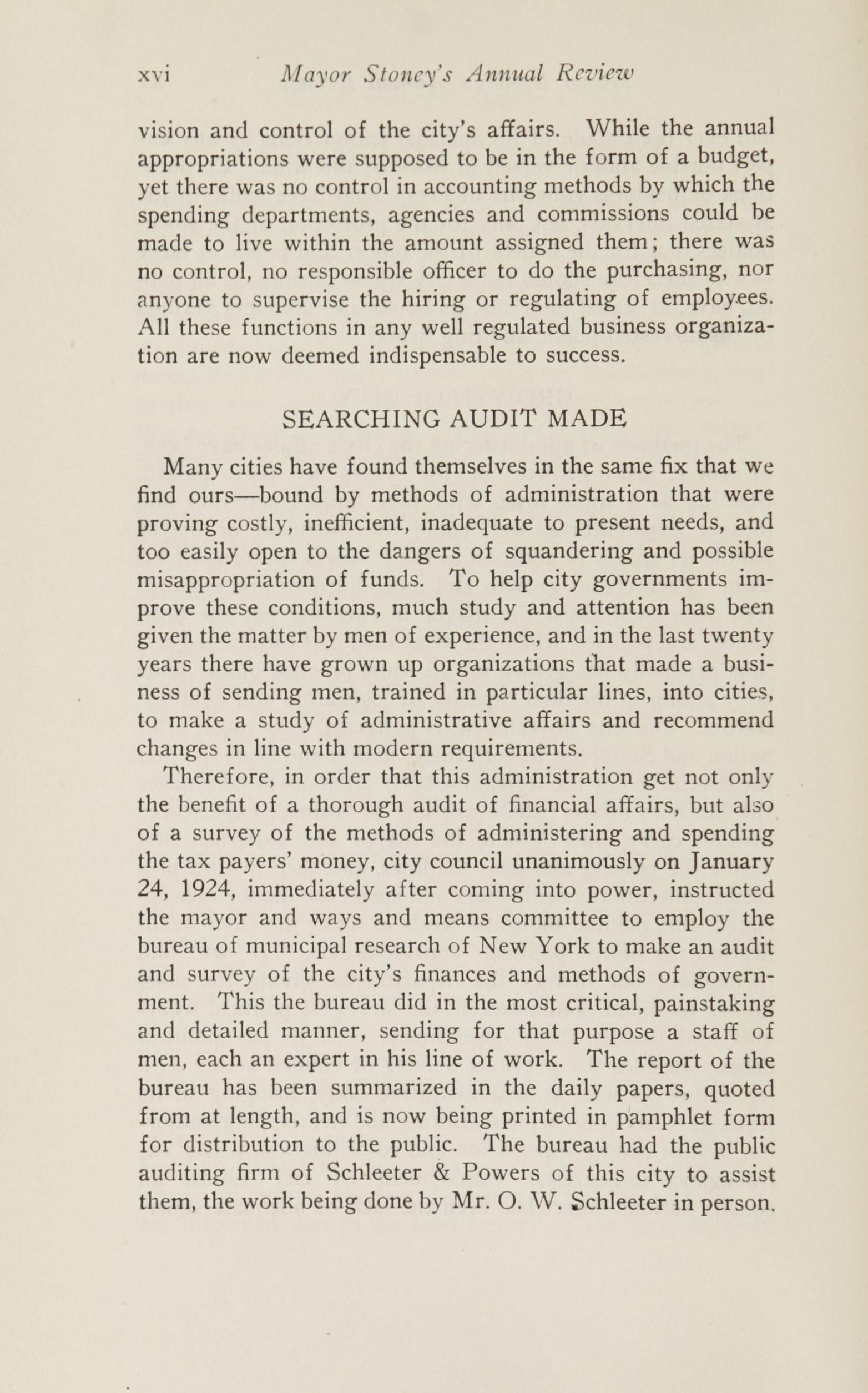 Charleston Yearbook, 1924, page xvi