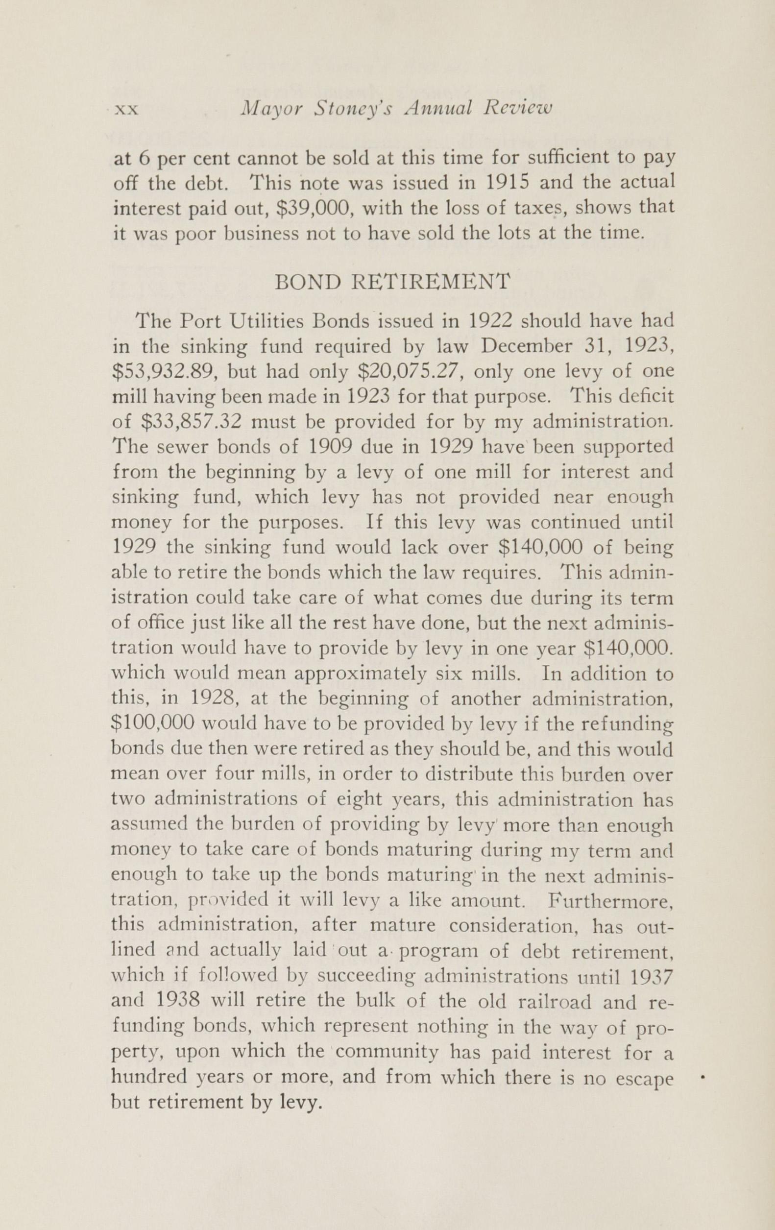 Charleston Yearbook, 1924, page xx