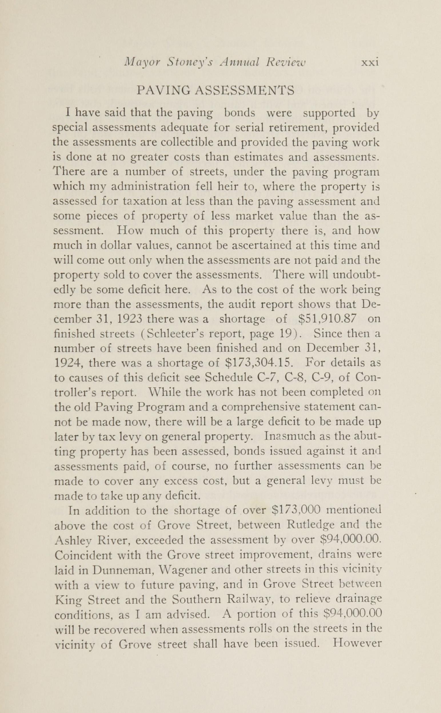 Charleston Yearbook, 1924, page xxi