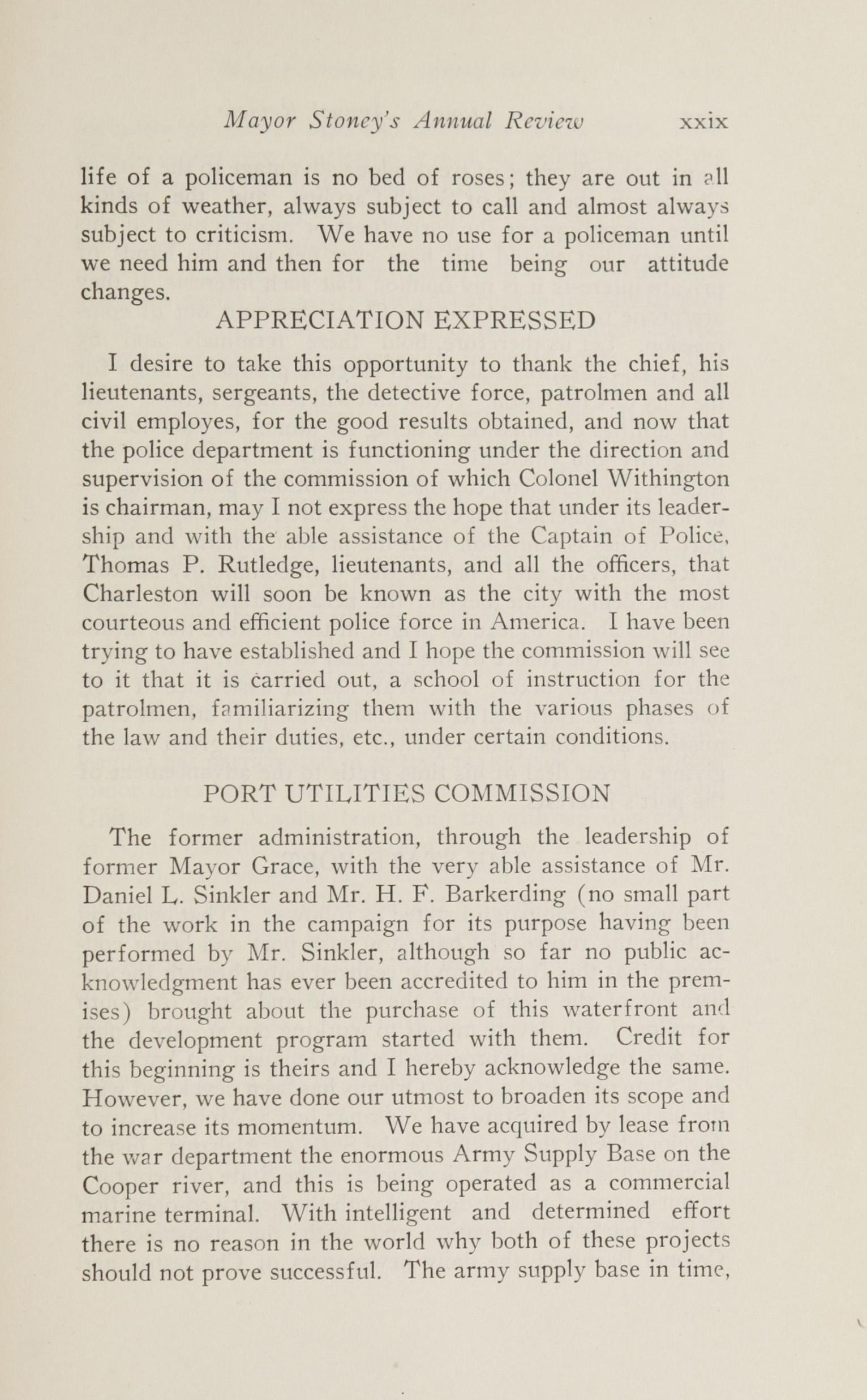 Charleston Yearbook, 1924, page xxix