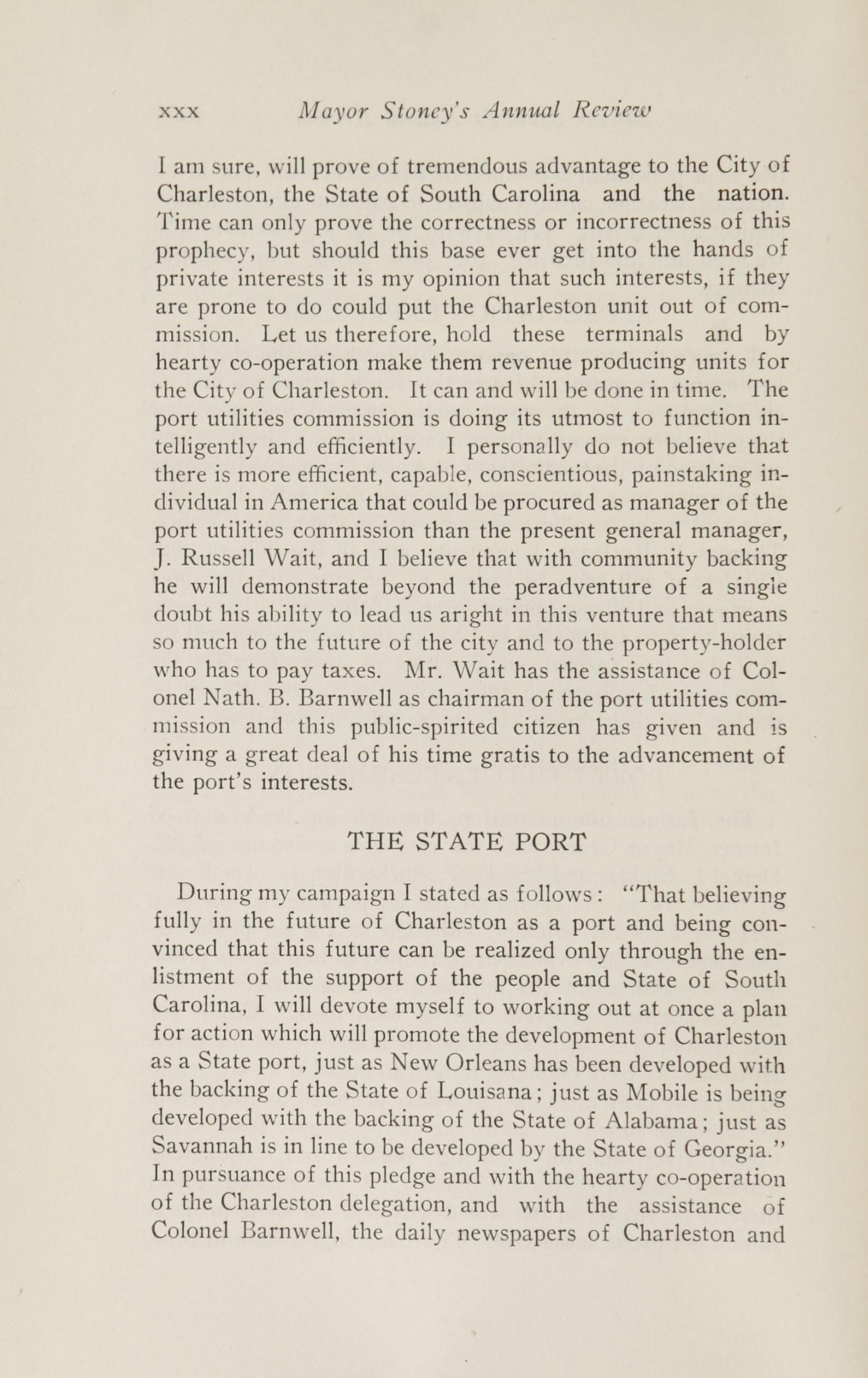 Charleston Yearbook, 1924, page xxx