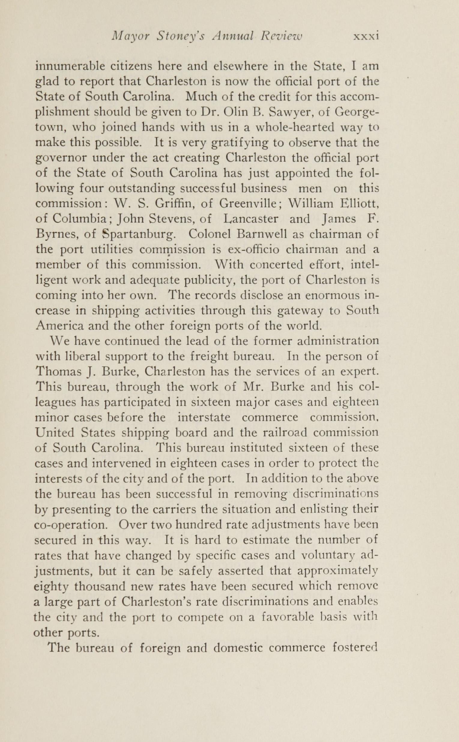 Charleston Yearbook, 1924, page xxxi