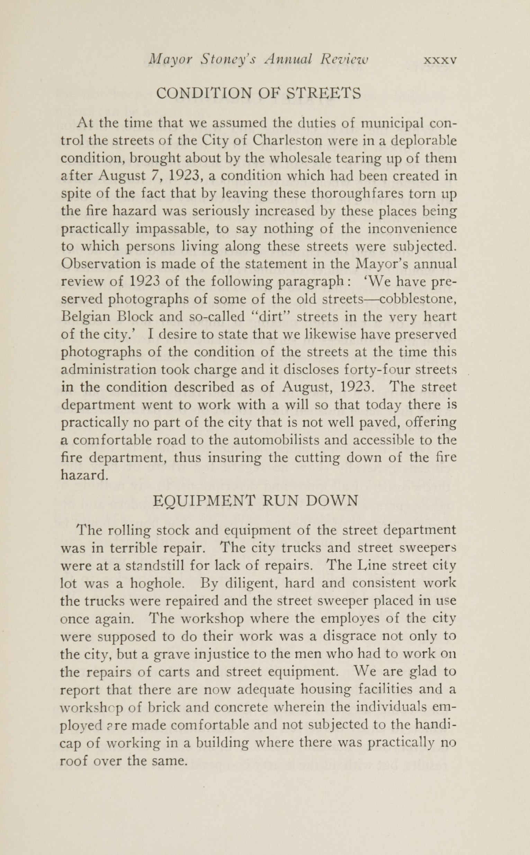 Charleston Yearbook, 1924, page xxxv