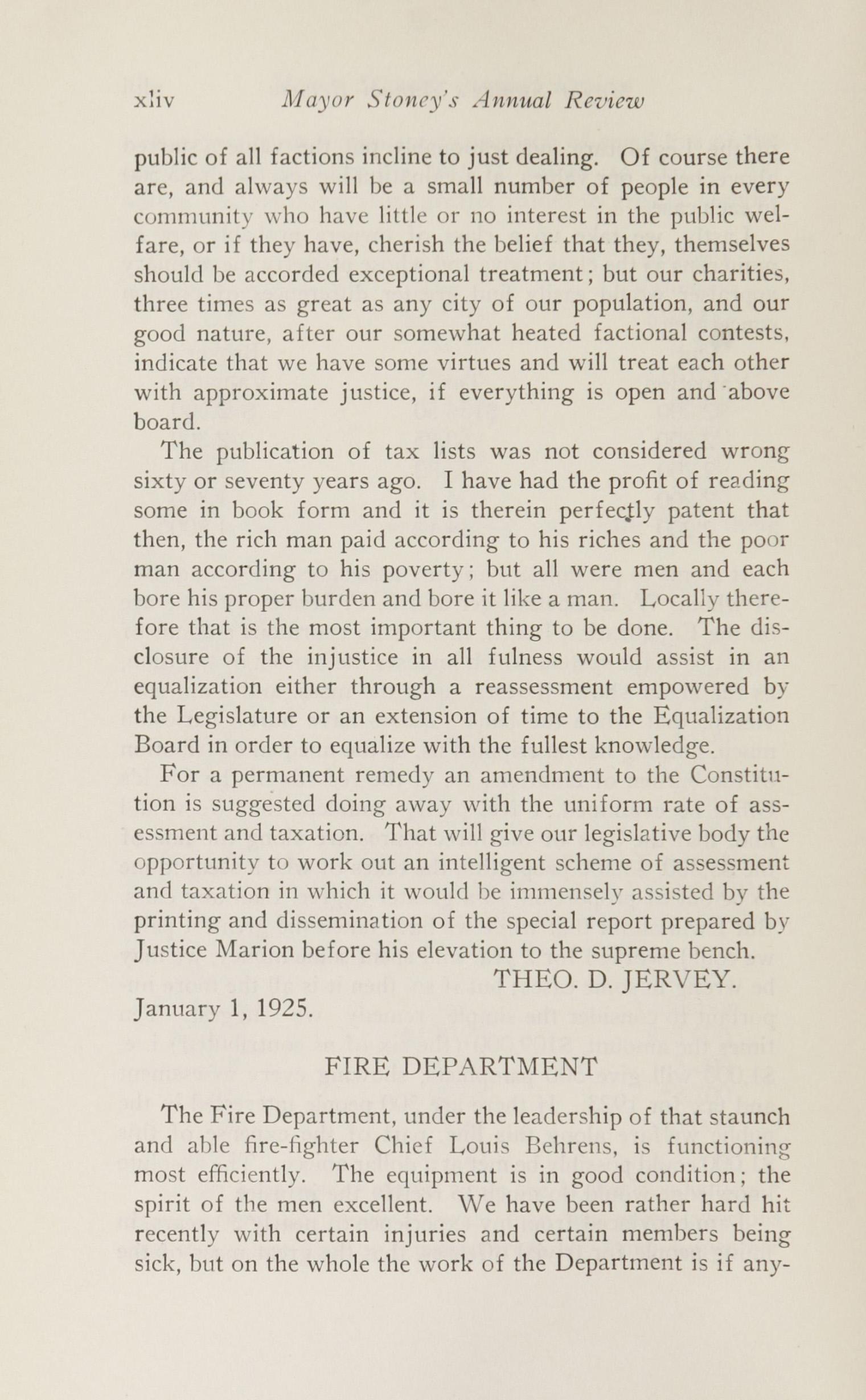 Charleston Yearbook, 1924, page xliv