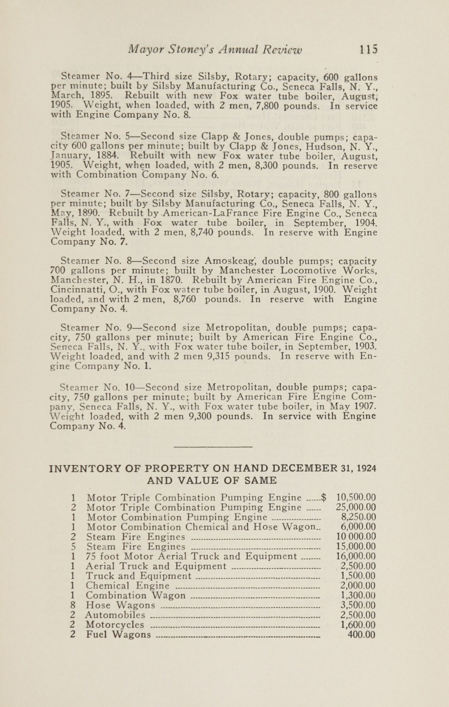 Charleston Yearbook, 1924, page 115
