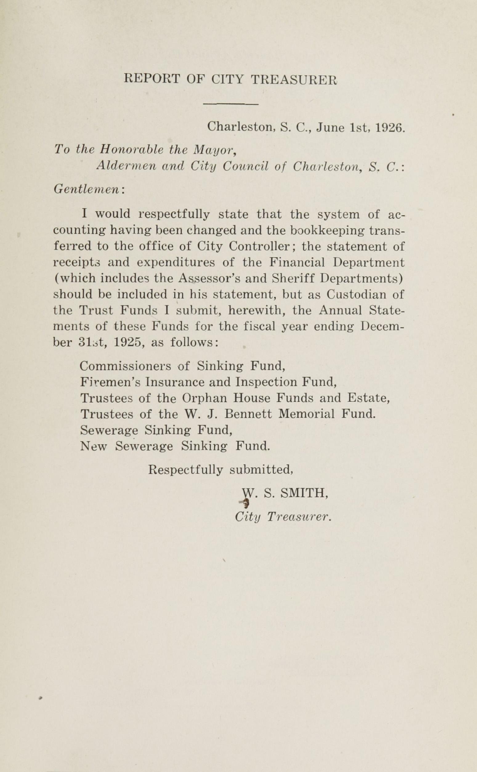 Charleston Yearbook, 1925, page 1