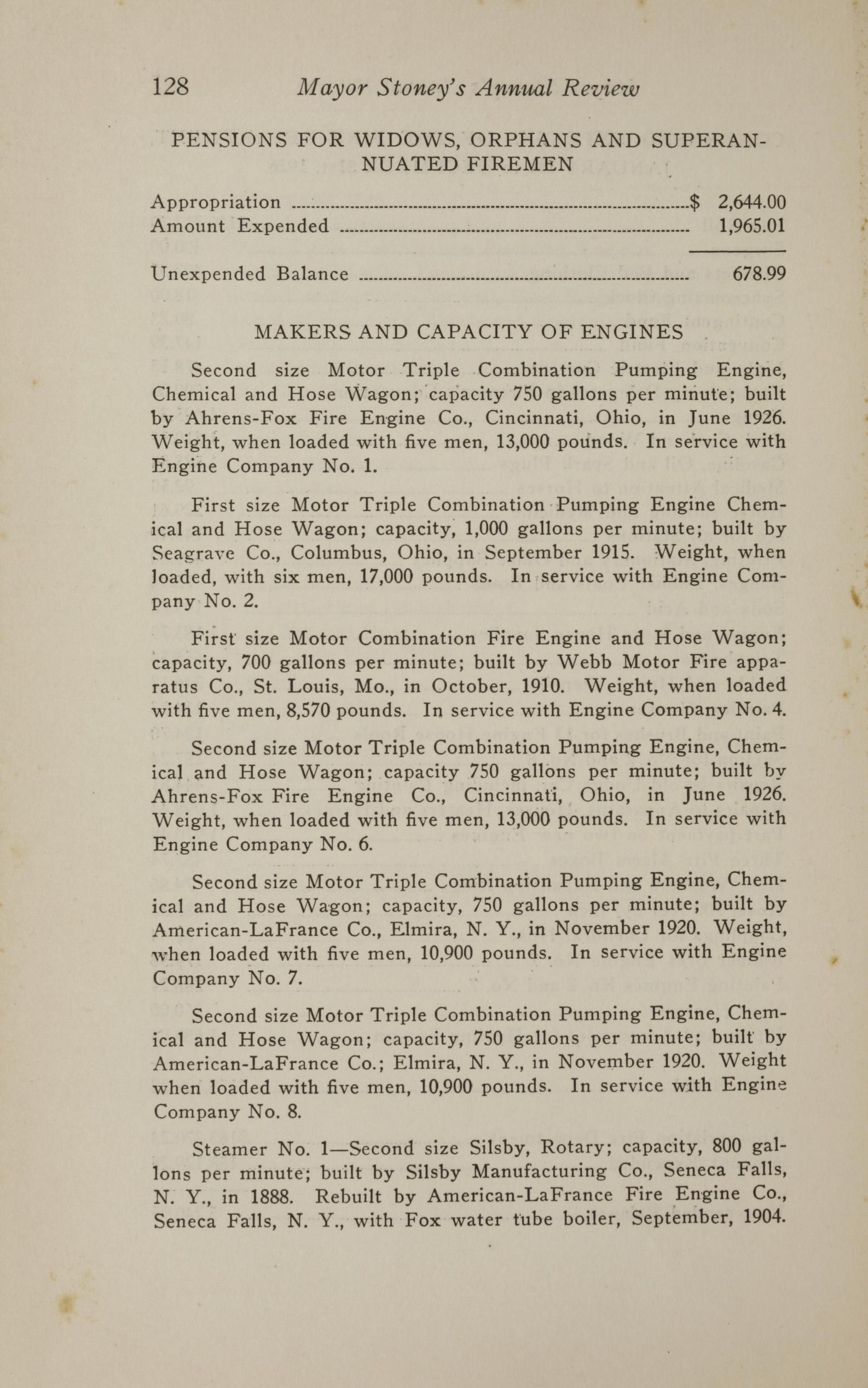 Charleston Yearbook, 1926, page 128