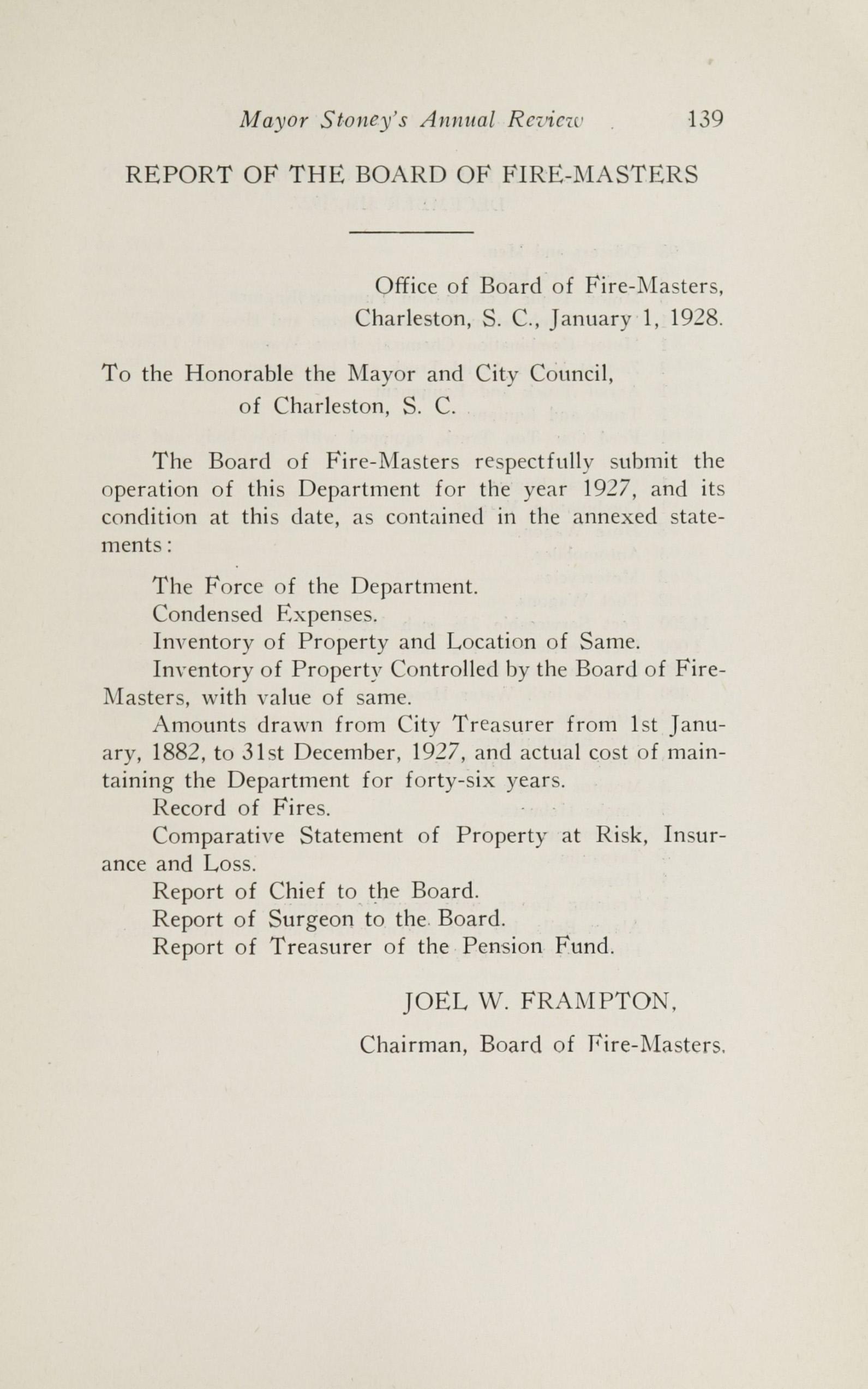 Charleston Yearbook, 1927, page 139