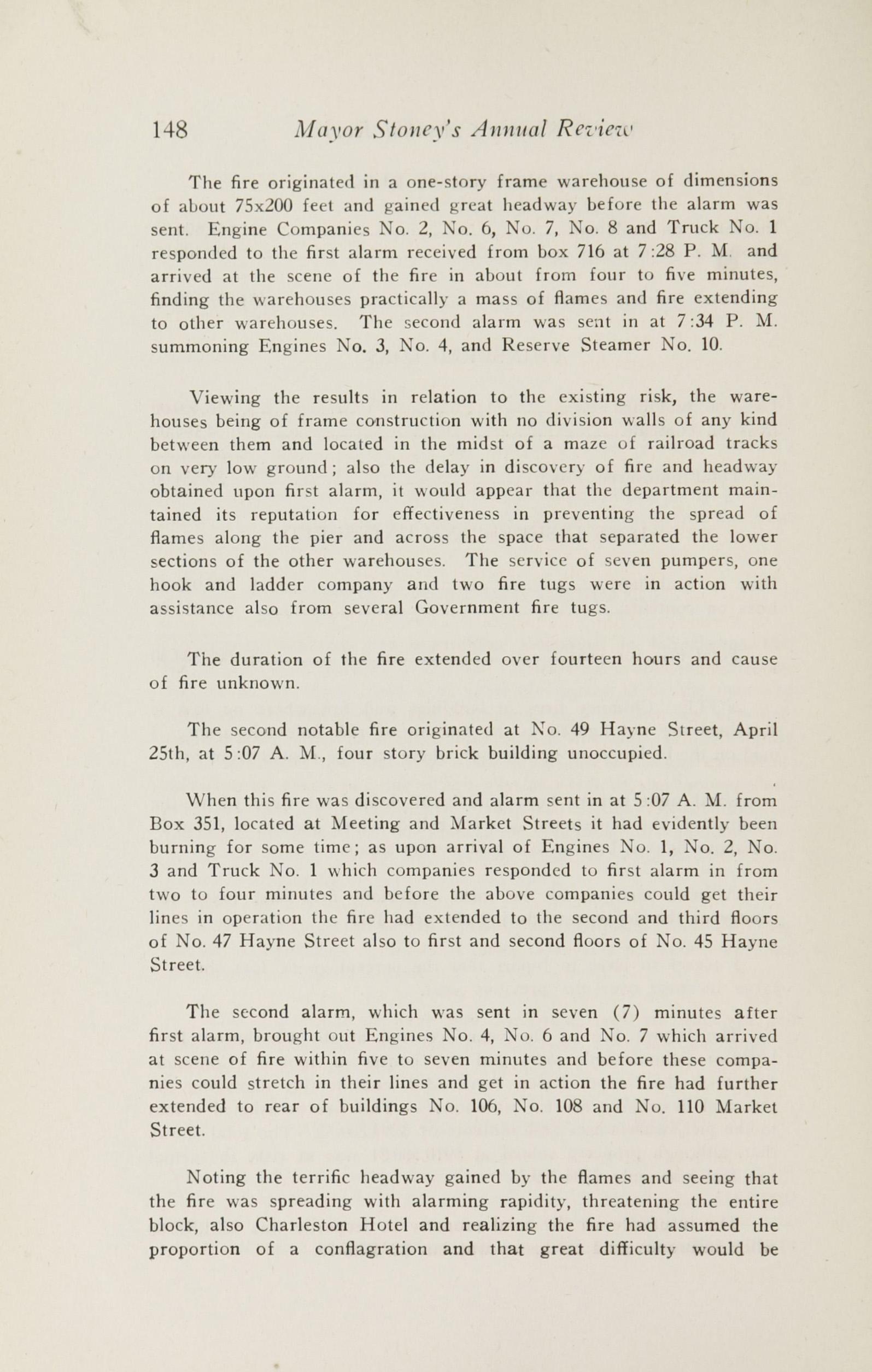 Charleston Yearbook, 1927, page 148