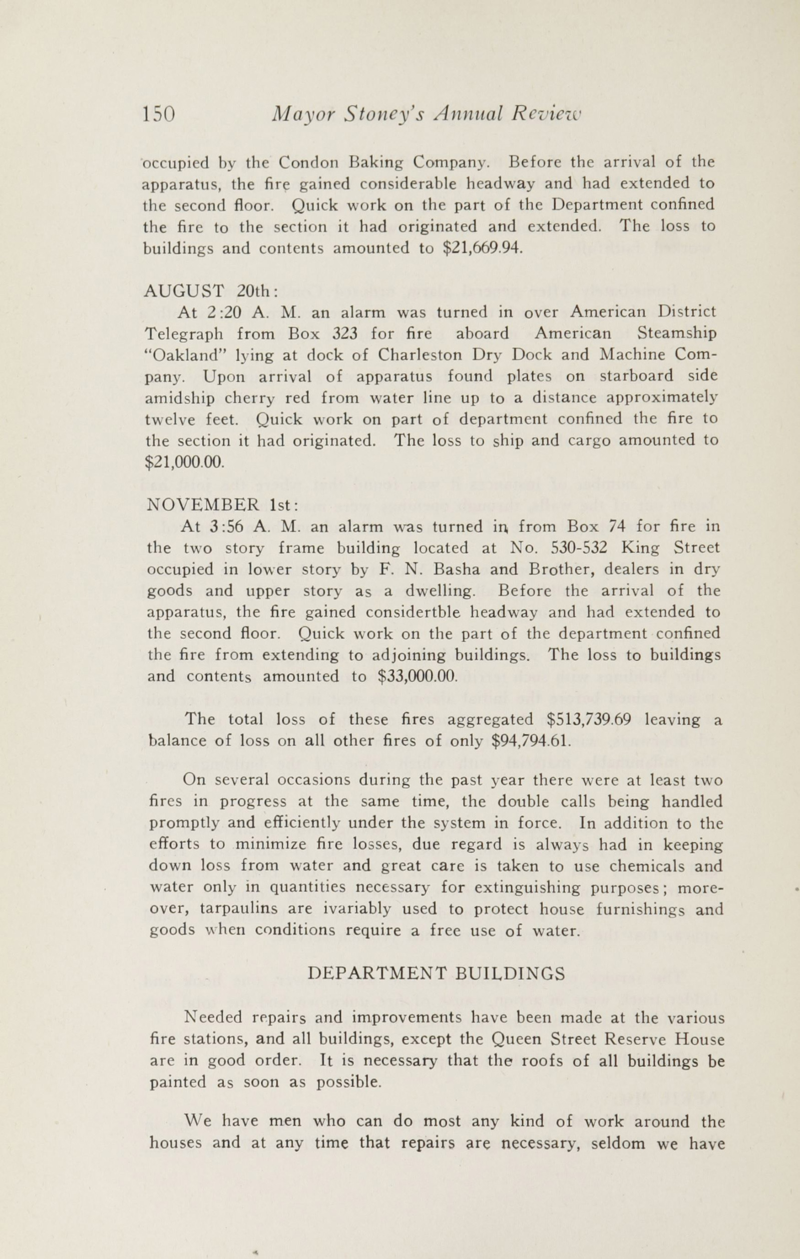 Charleston Yearbook, 1927, page 150