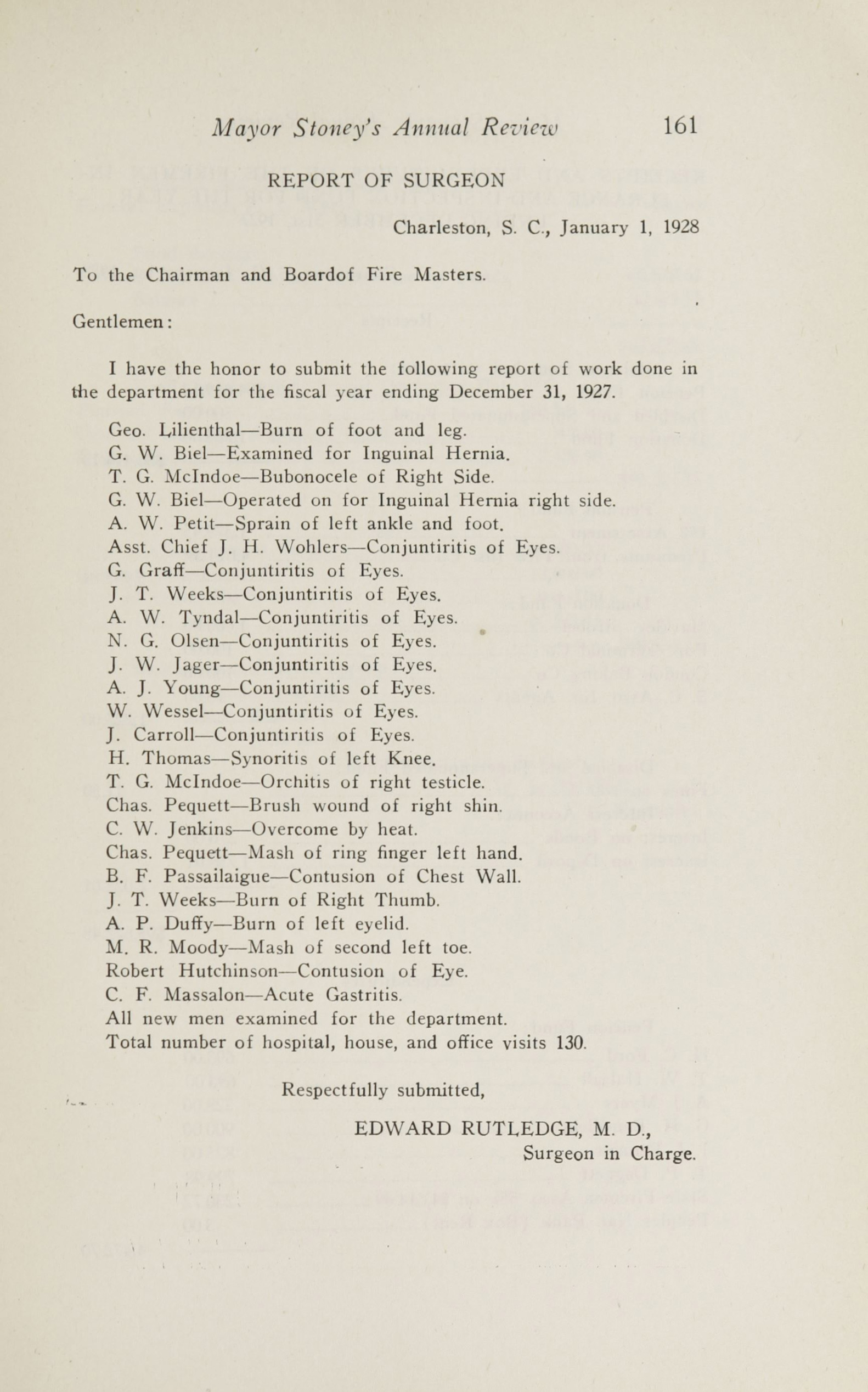 Charleston Yearbook, 1927, page 161