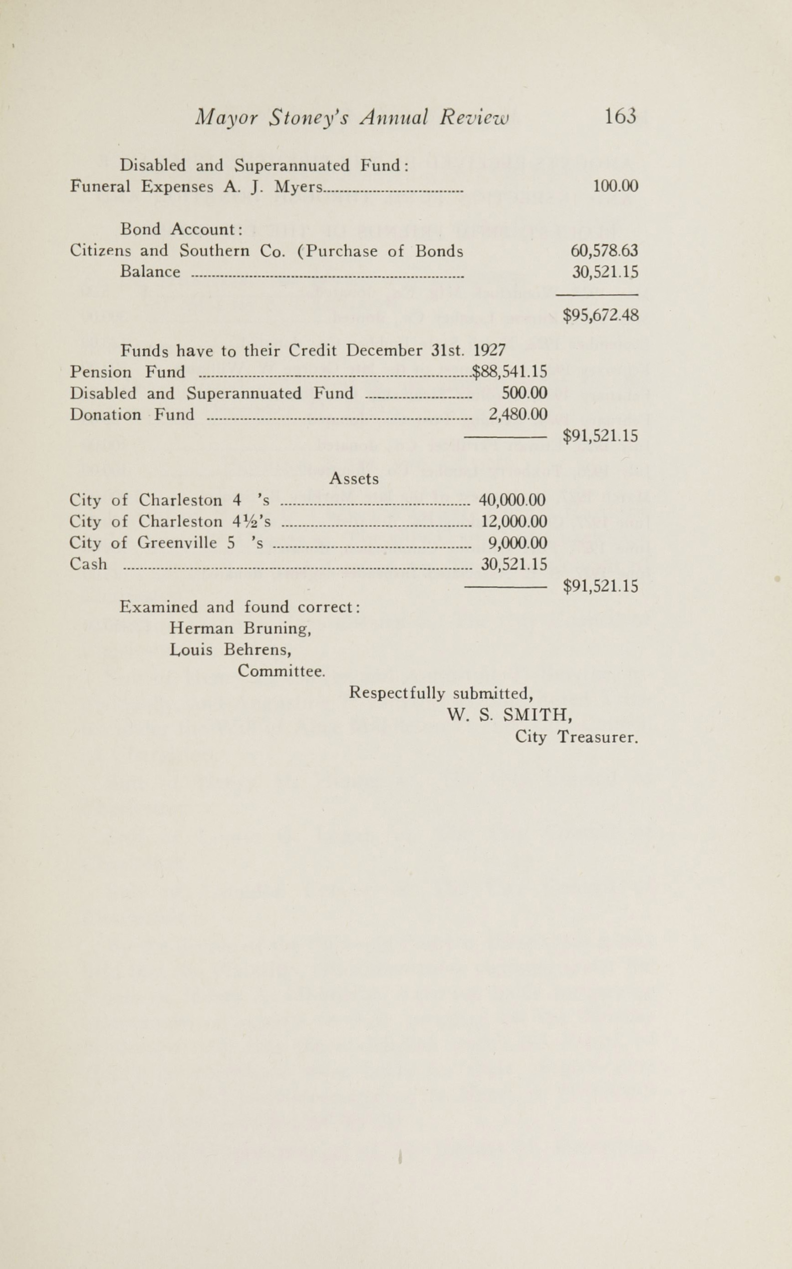 Charleston Yearbook, 1927, page 163