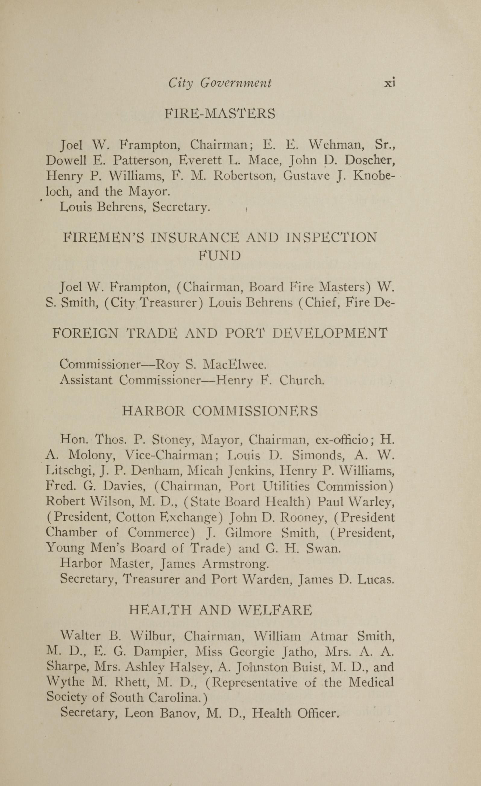 Charleston Yearbook, 1928, page xi
