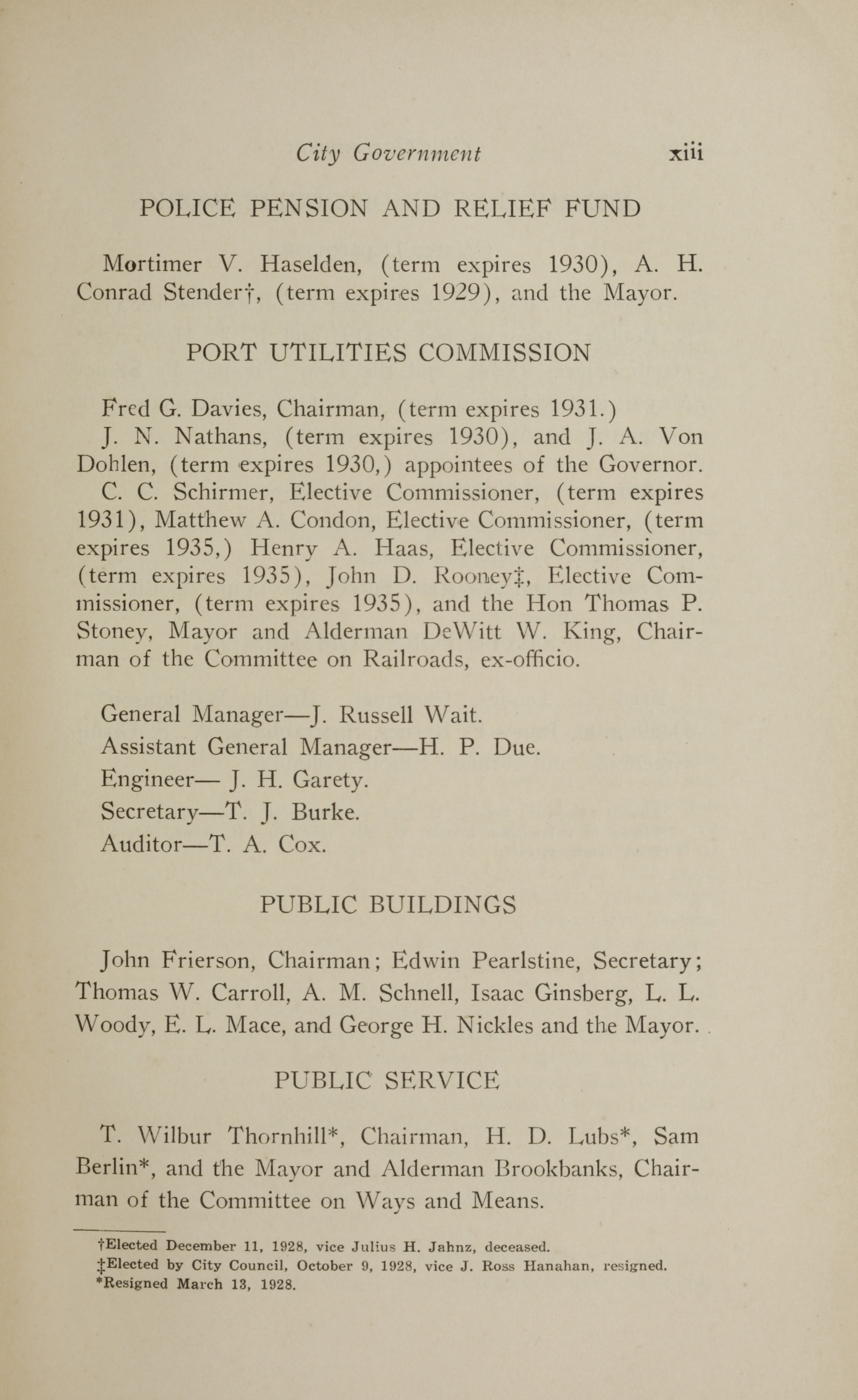 Charleston Yearbook, 1928, page xiii