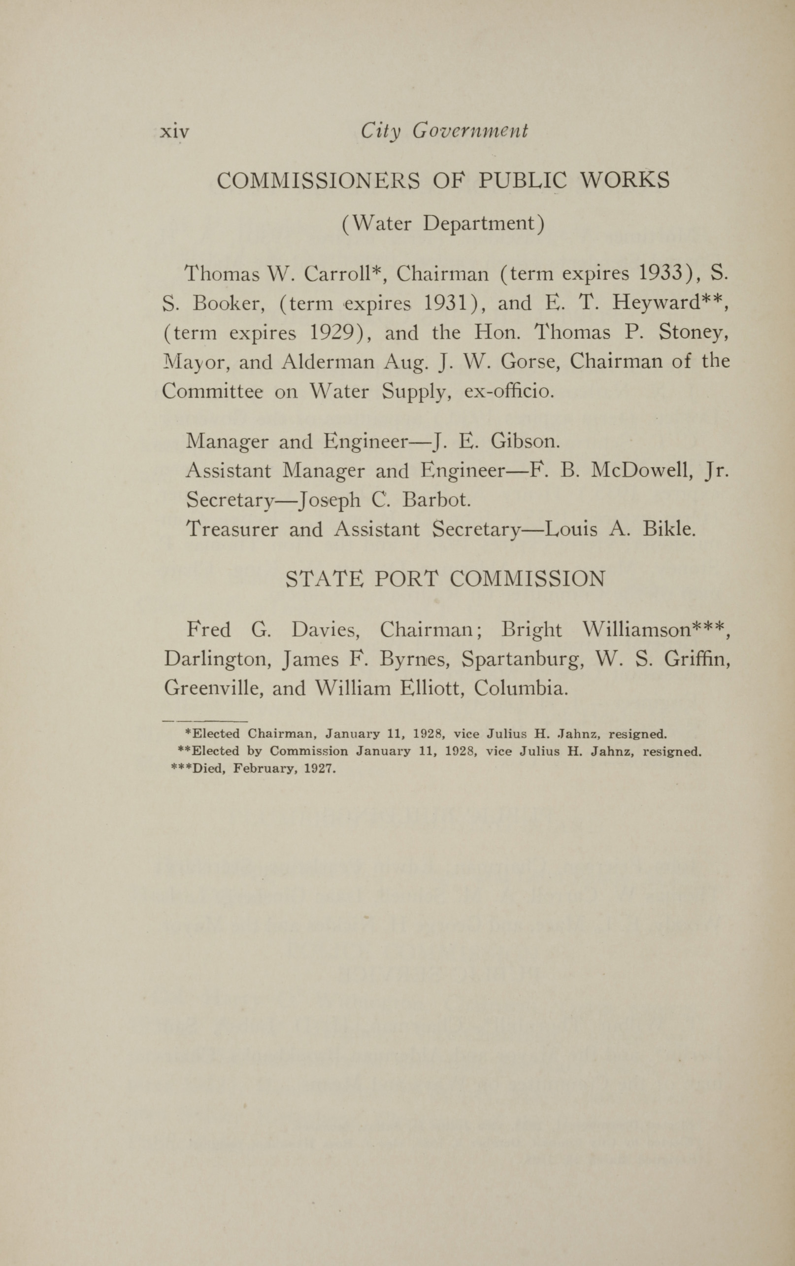 Charleston Yearbook, 1928, page xiv