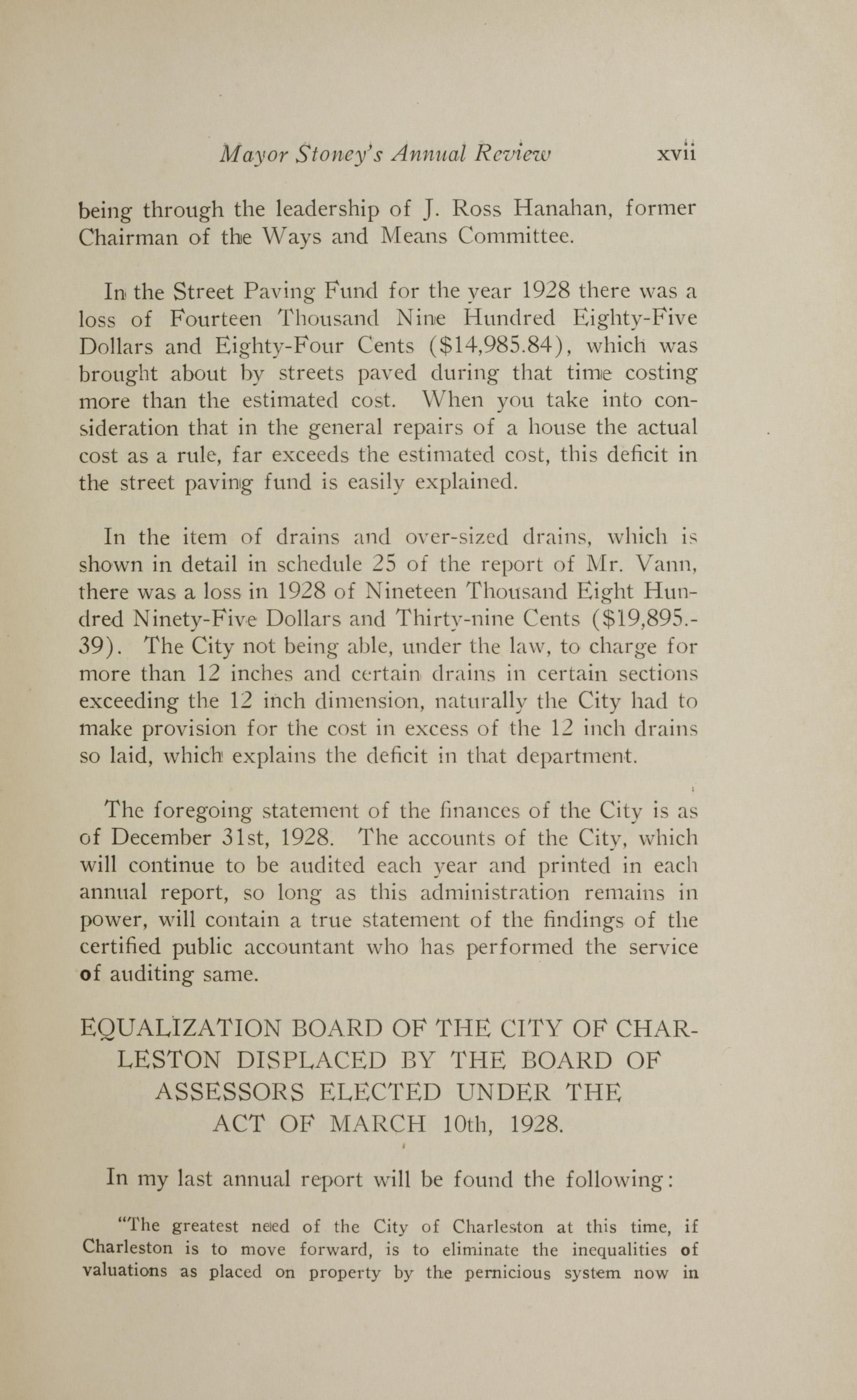 Charleston Yearbook, 1928, page xvii