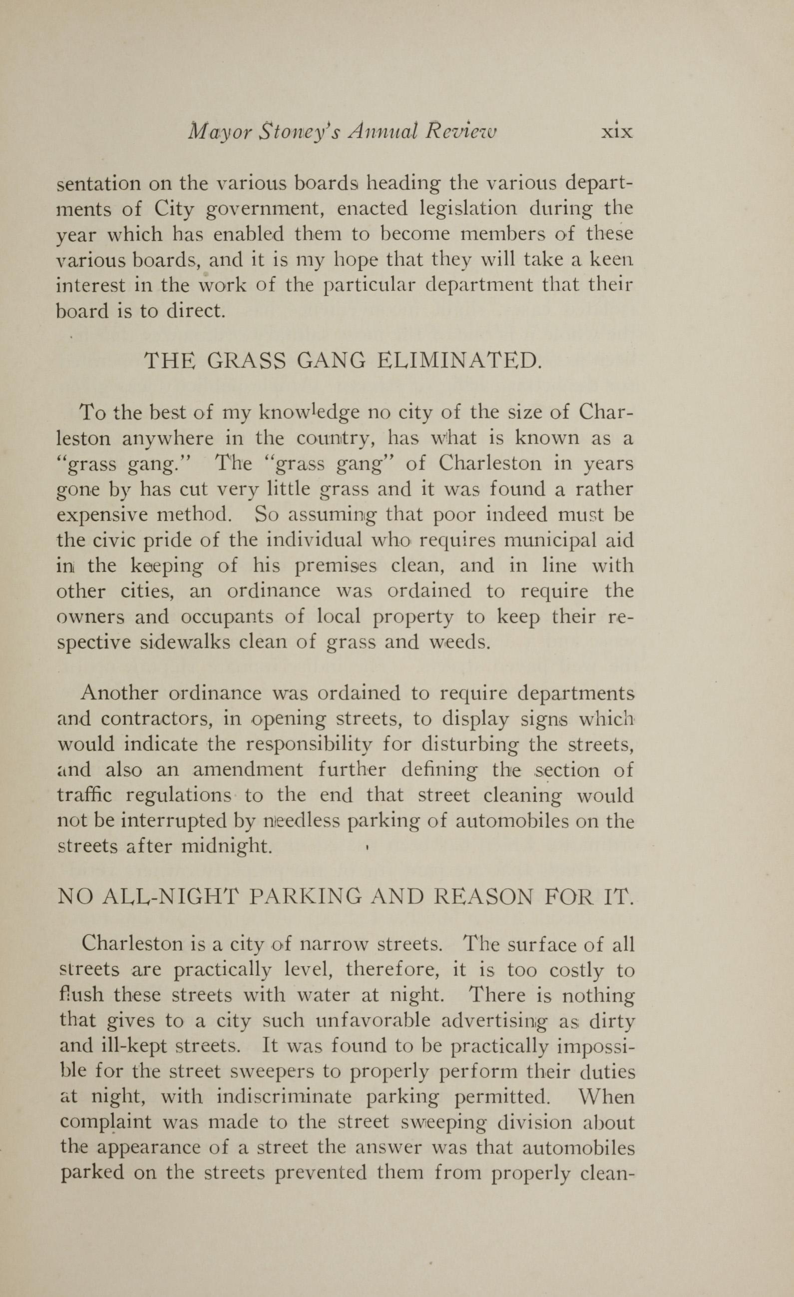 Charleston Yearbook, 1928, page xix