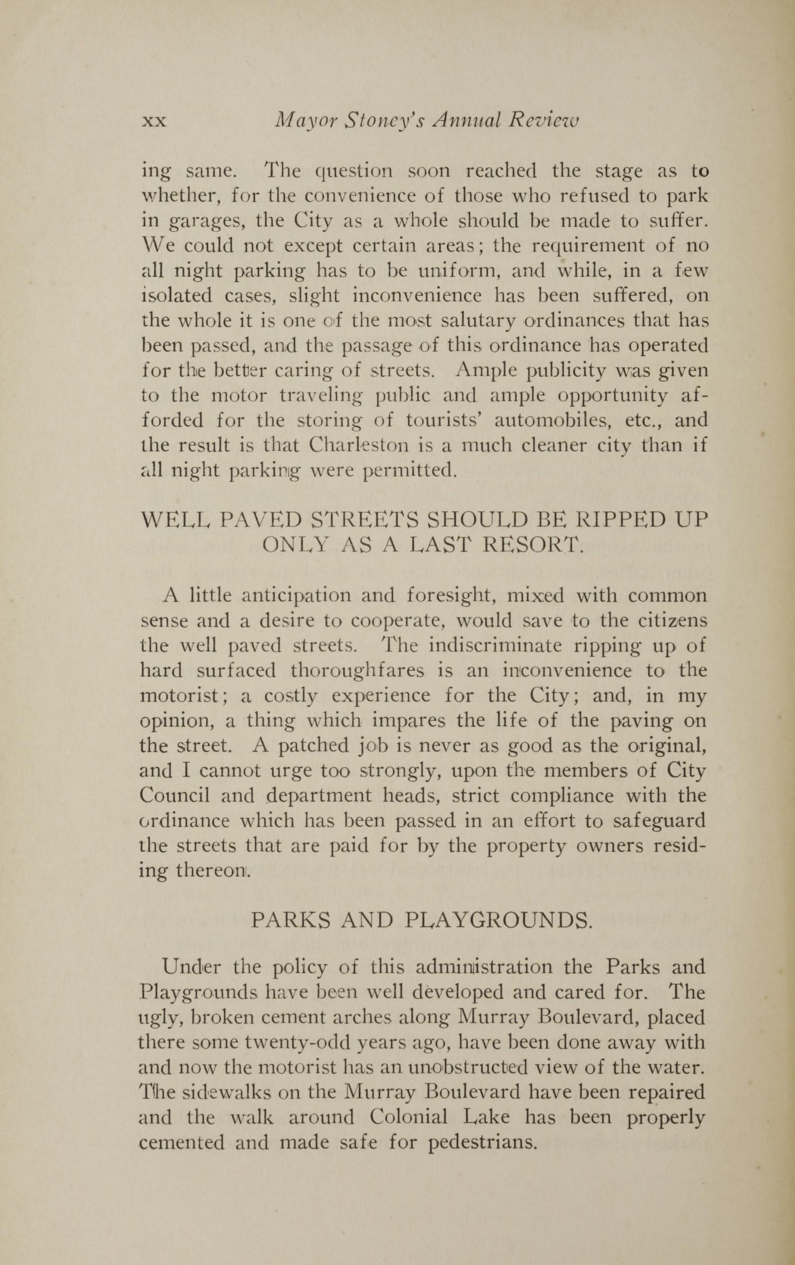 Charleston Yearbook, 1928, page xx