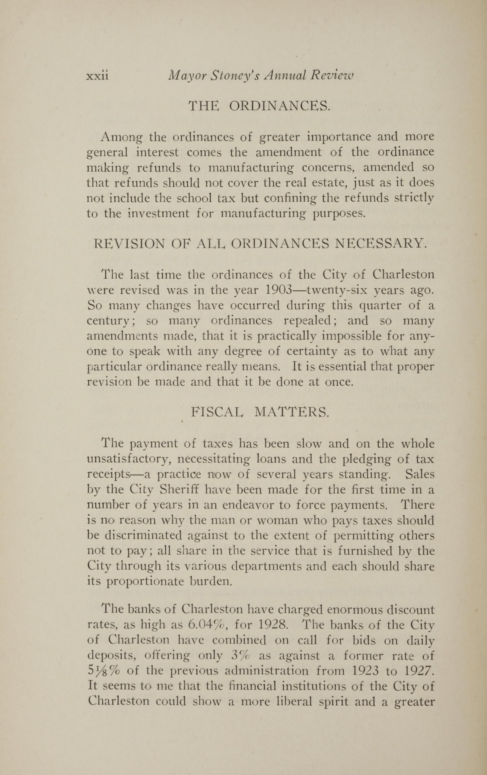 Charleston Yearbook, 1928, page xxii