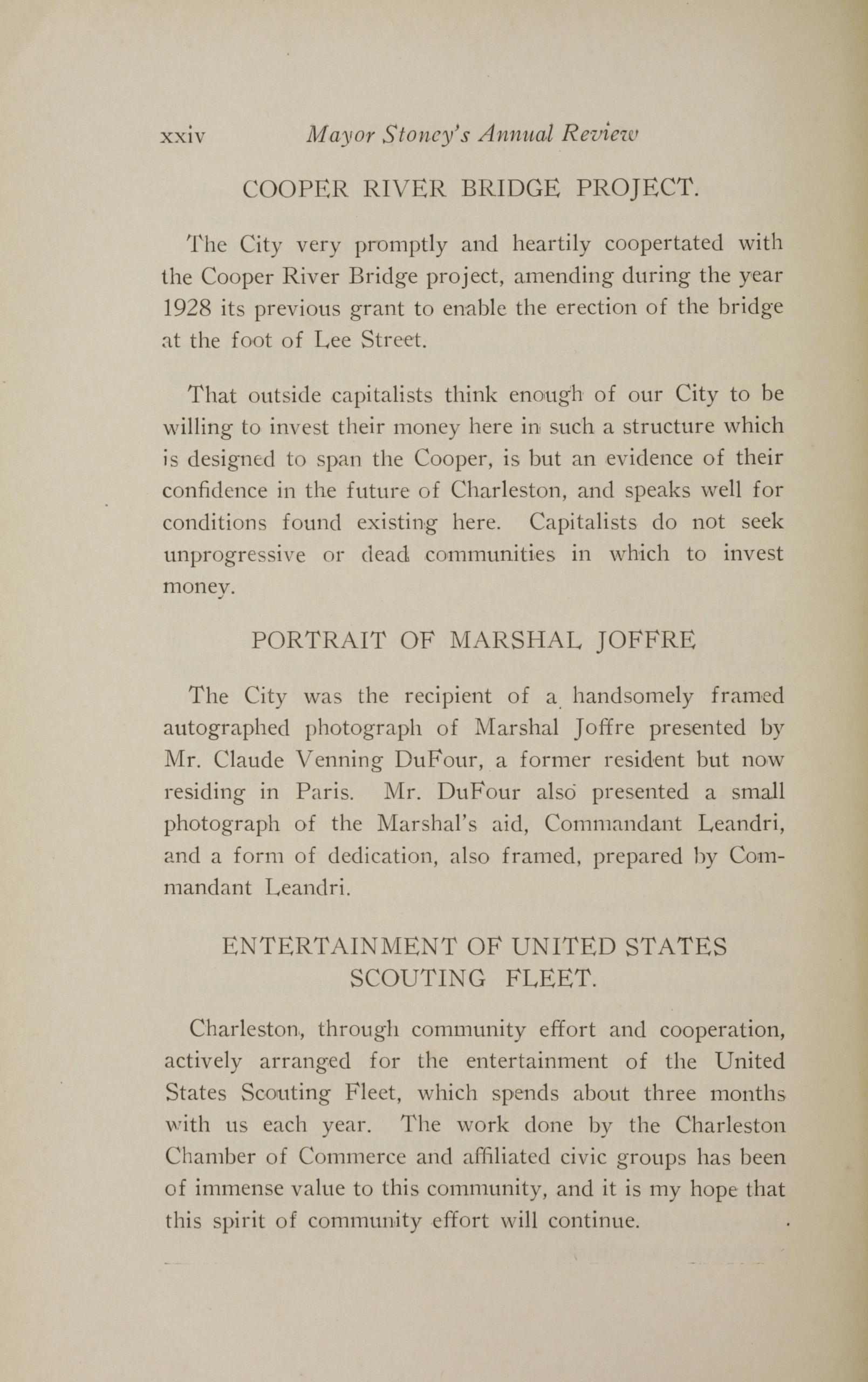 Charleston Yearbook, 1928, page xxiv