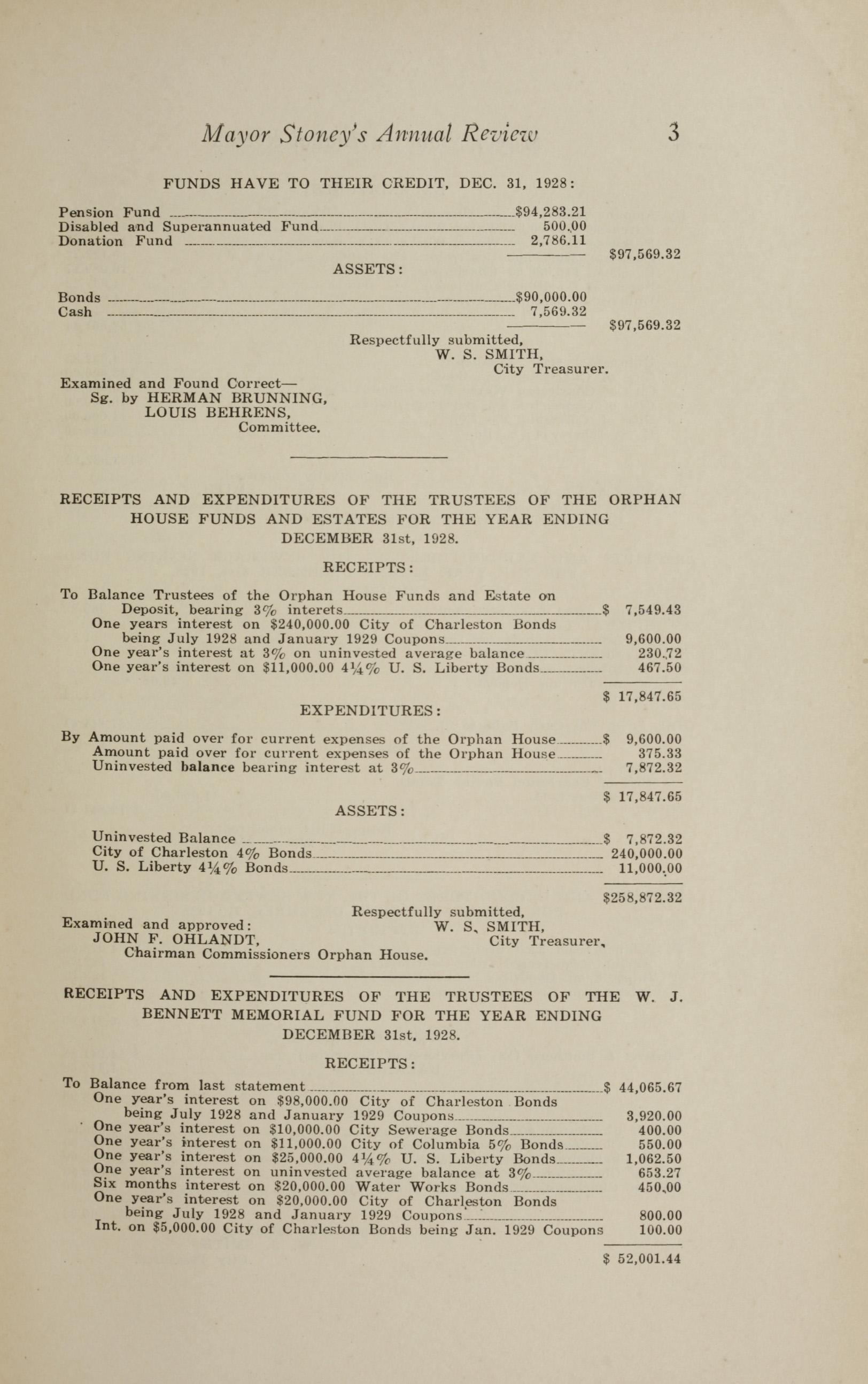 Charleston Yearbook, 1928, page 3
