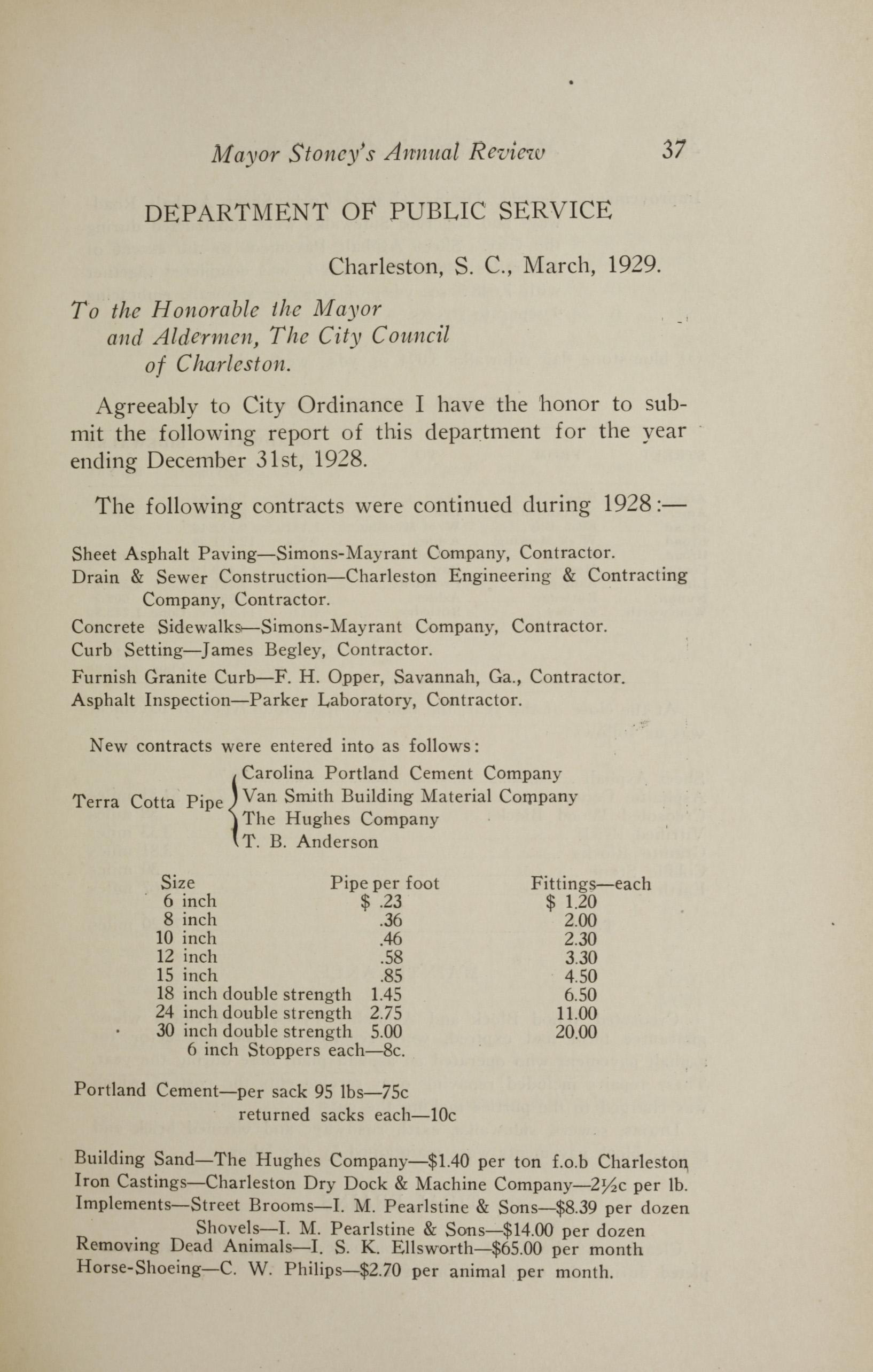 Charleston Yearbook, 1928, page 37