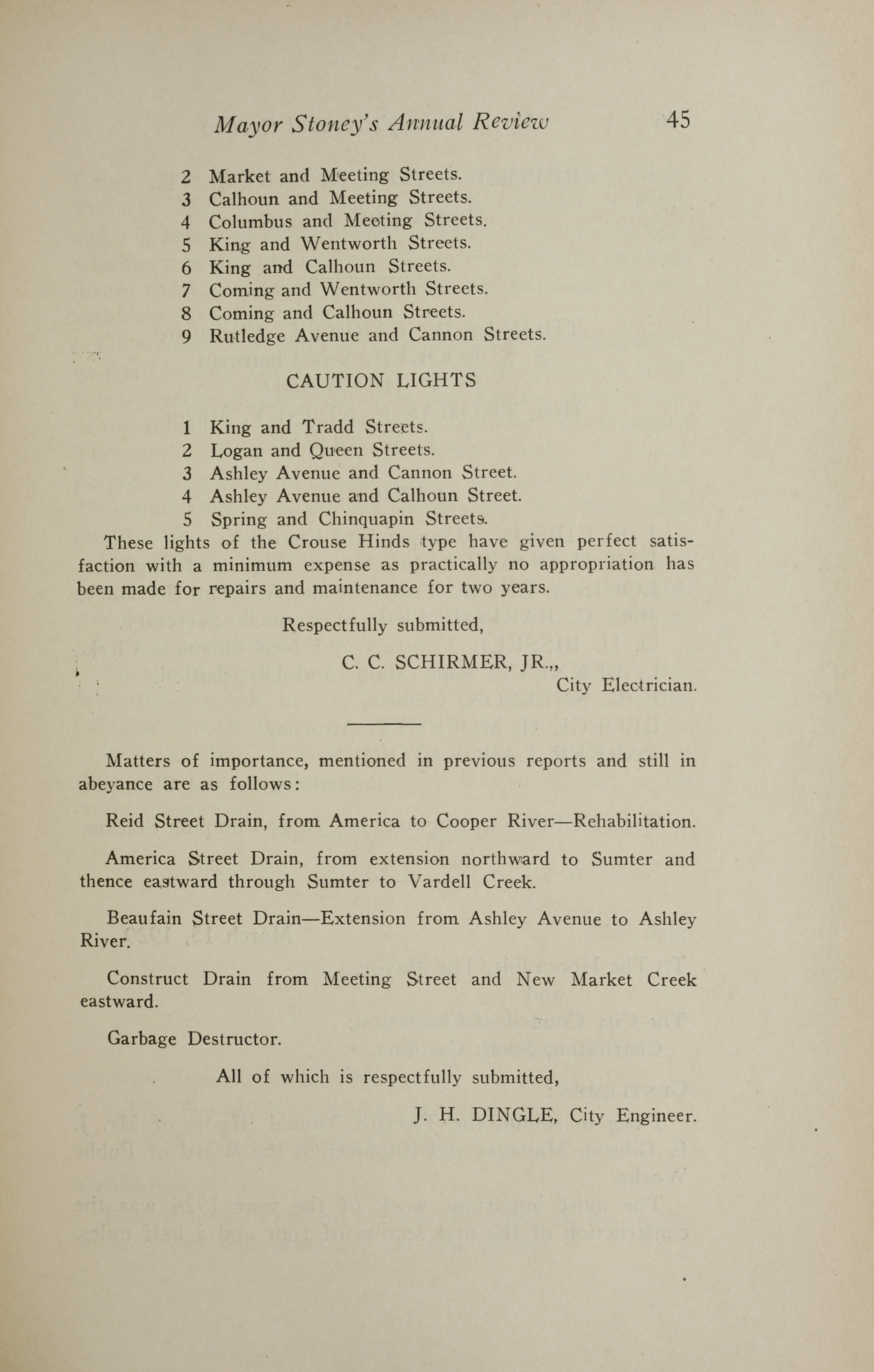 Charleston Yearbook, 1928, page 45
