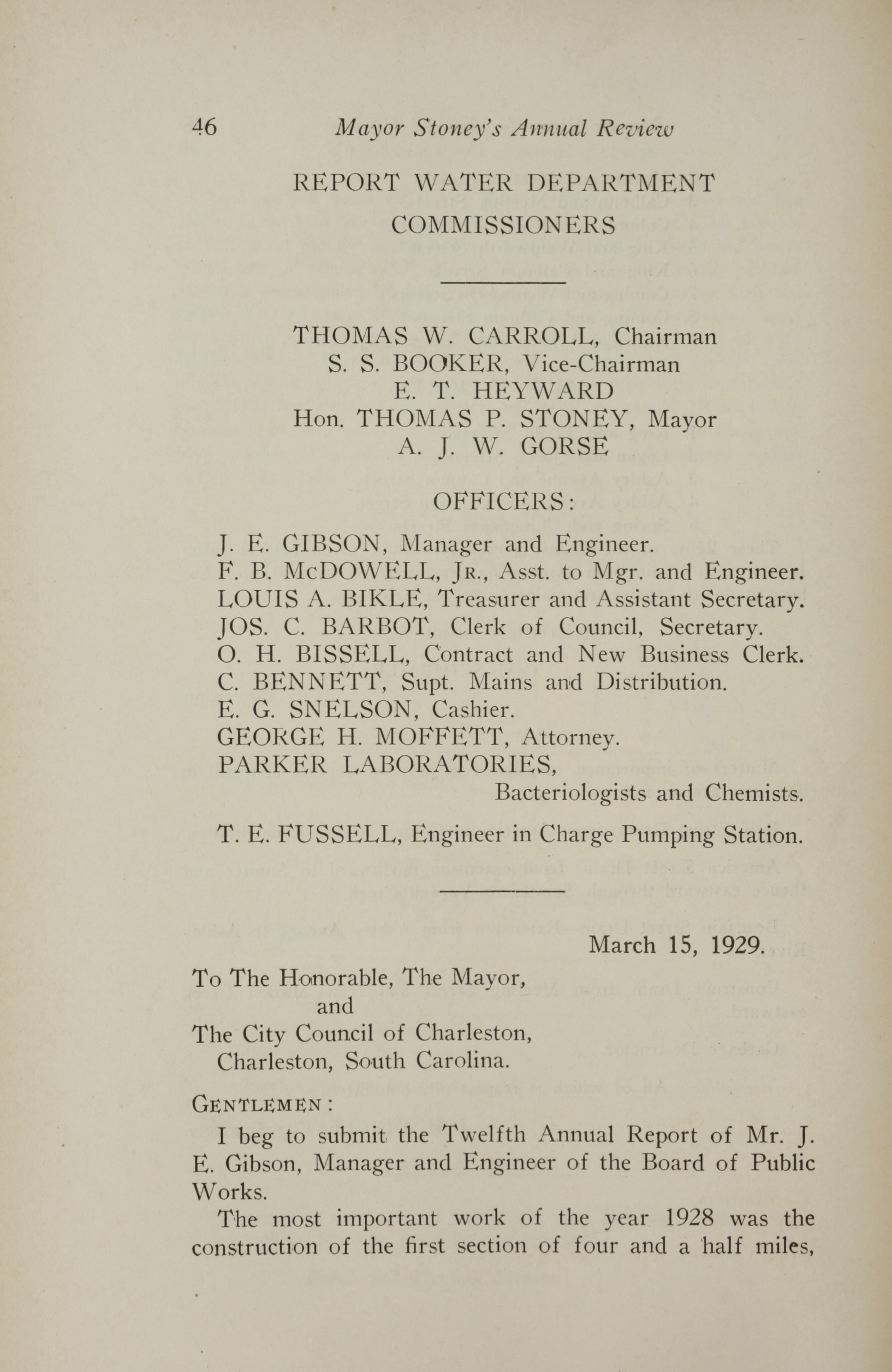Charleston Yearbook, 1928, page 46