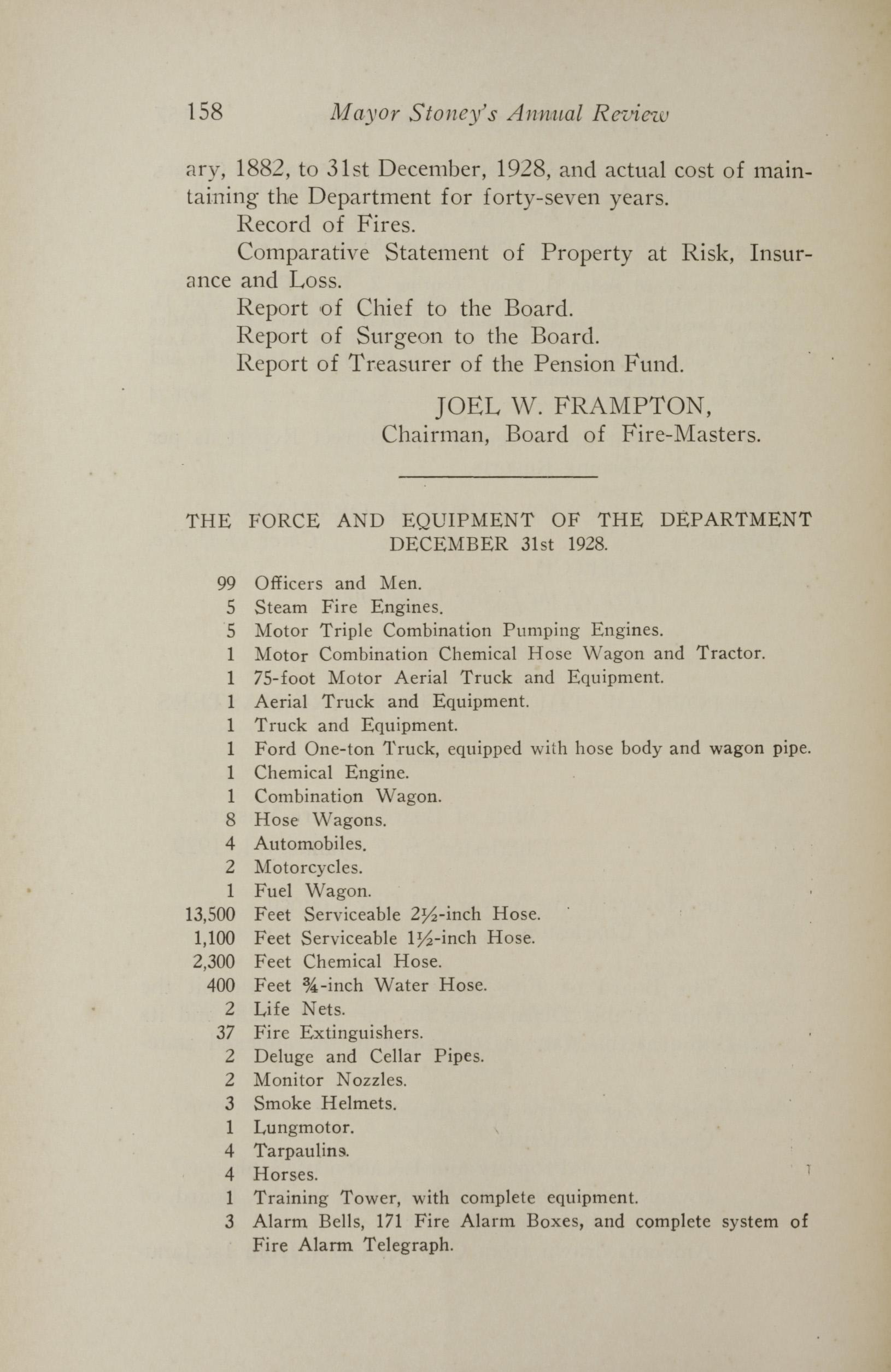 Charleston Yearbook, 1928, page 158