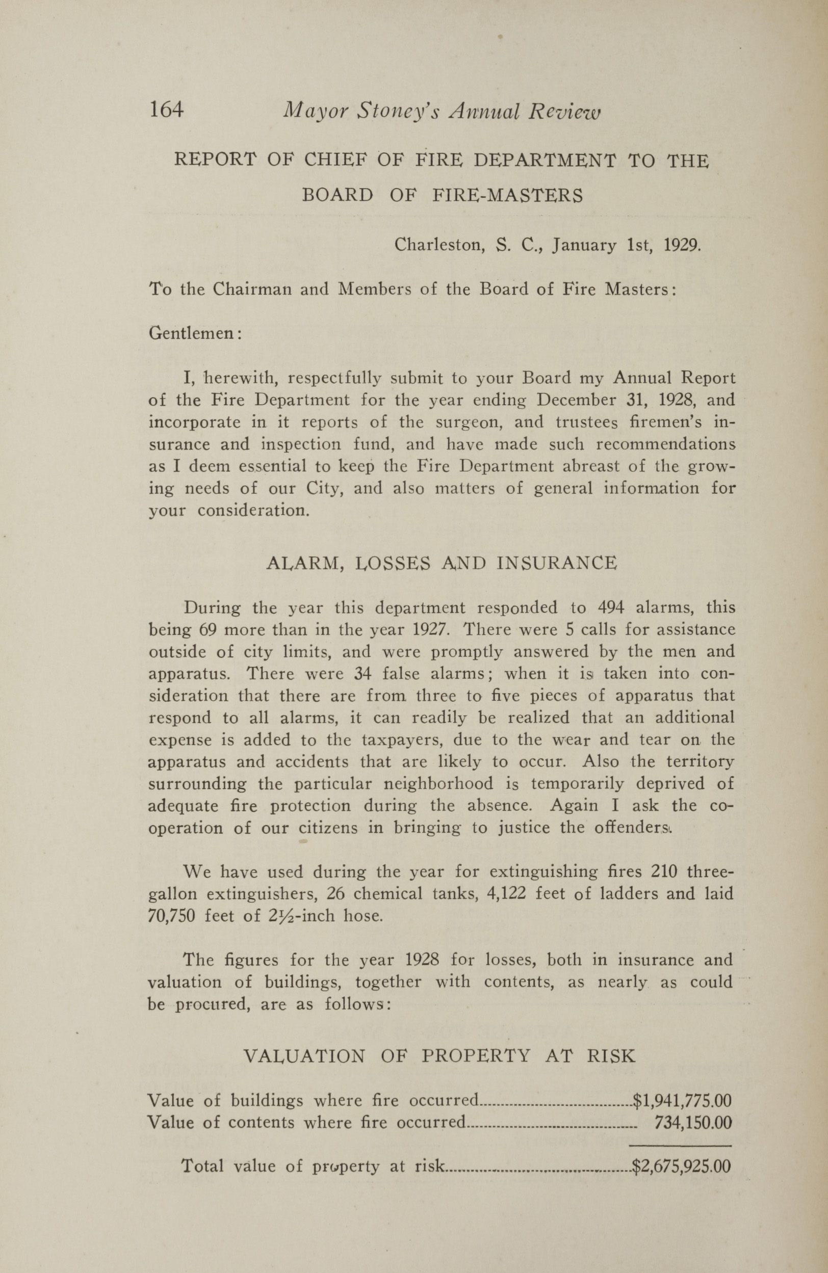 Charleston Yearbook, 1928, page 164