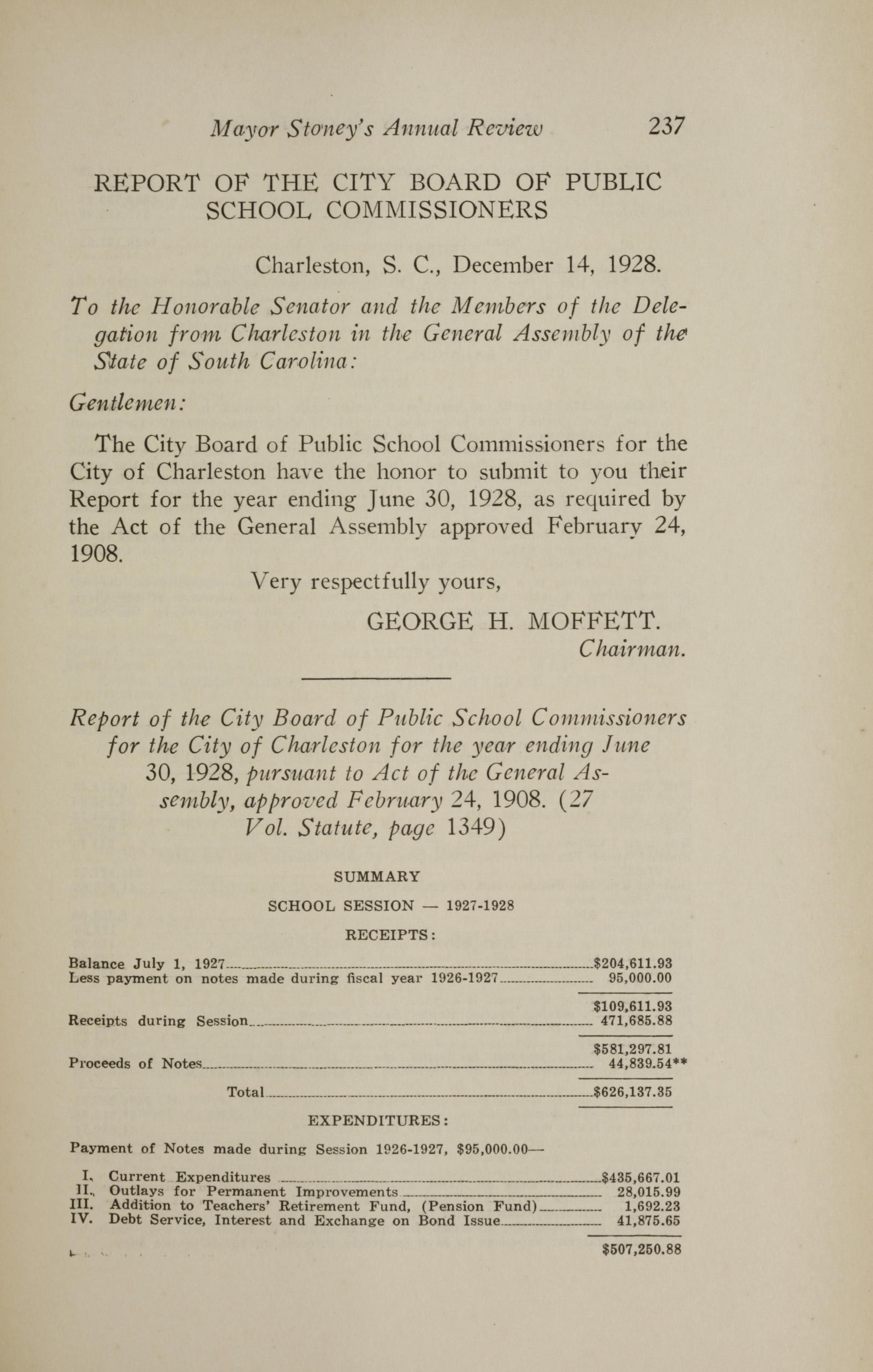 Charleston Yearbook, 1928, page 237