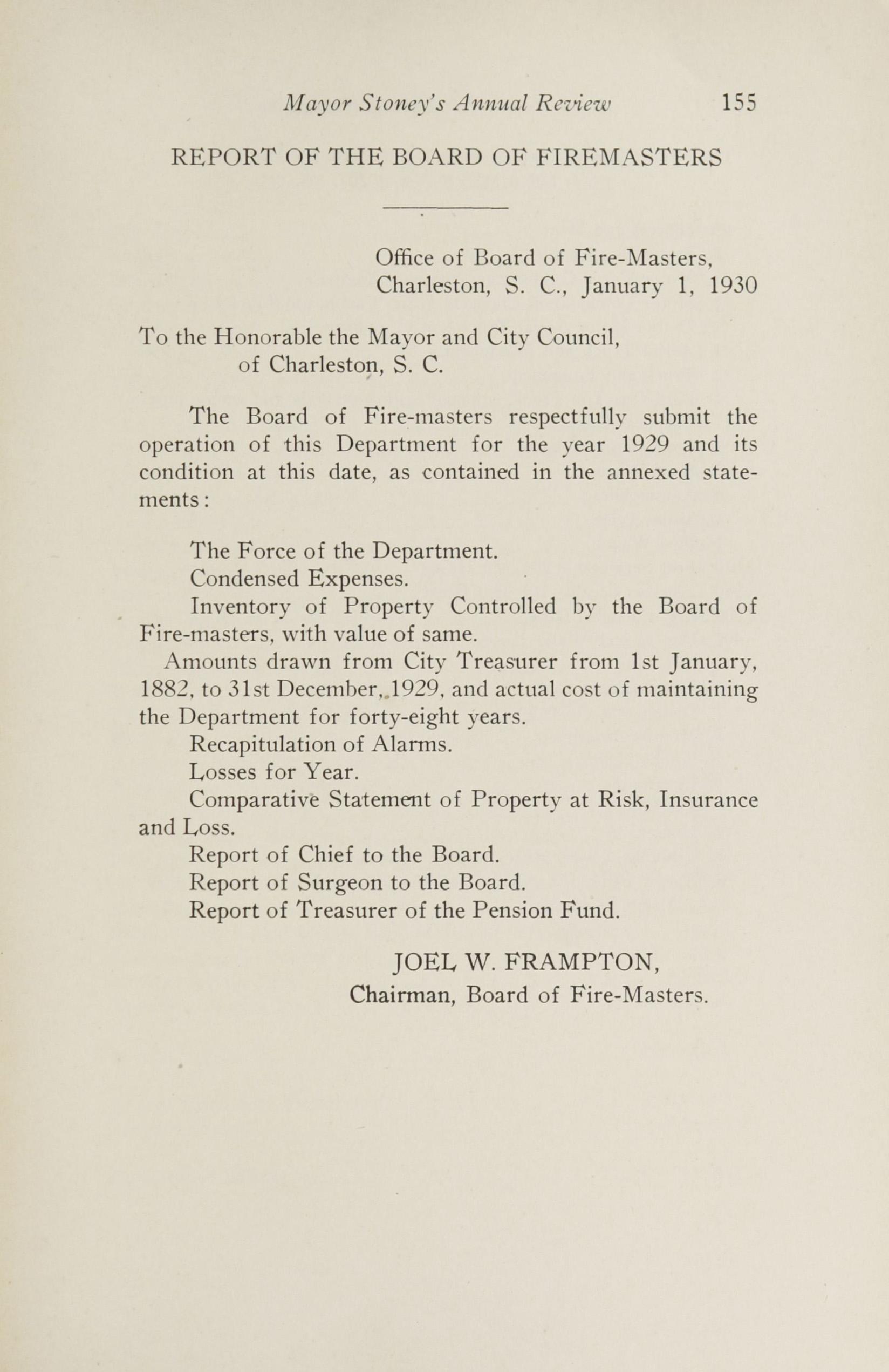 Charleston Yearbook, 1929, page 155